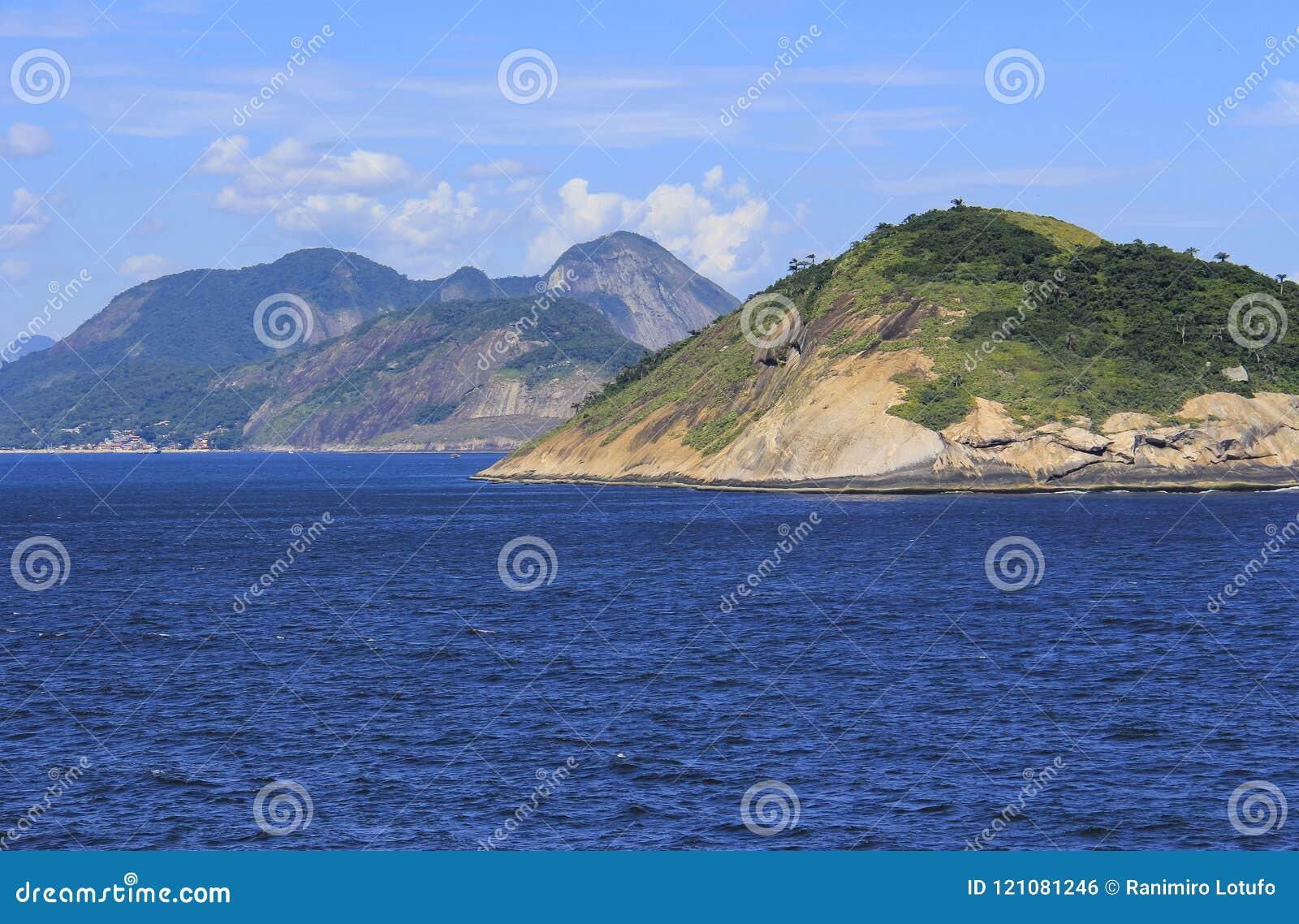 Eilanden rond de wereld, Redonda Eiland in Rio de Janeiro, Brazilië