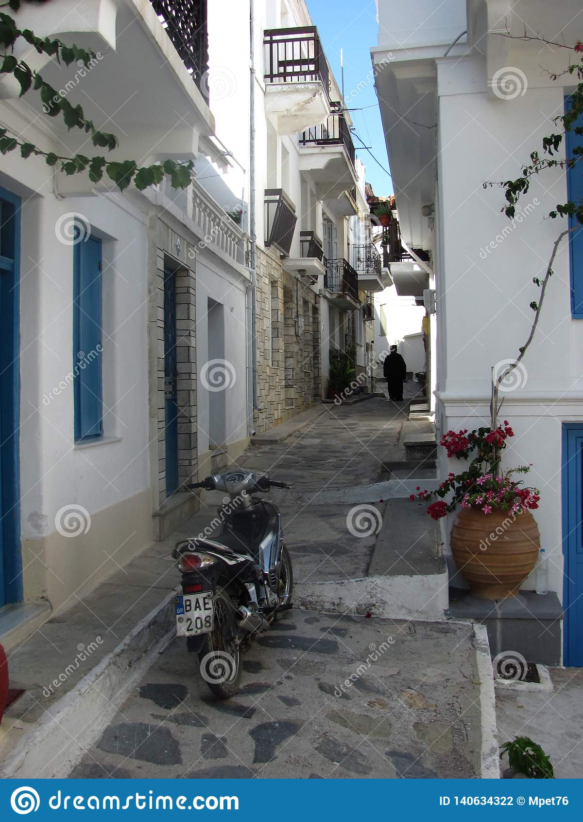 Eilandskopelos in Griekenland
