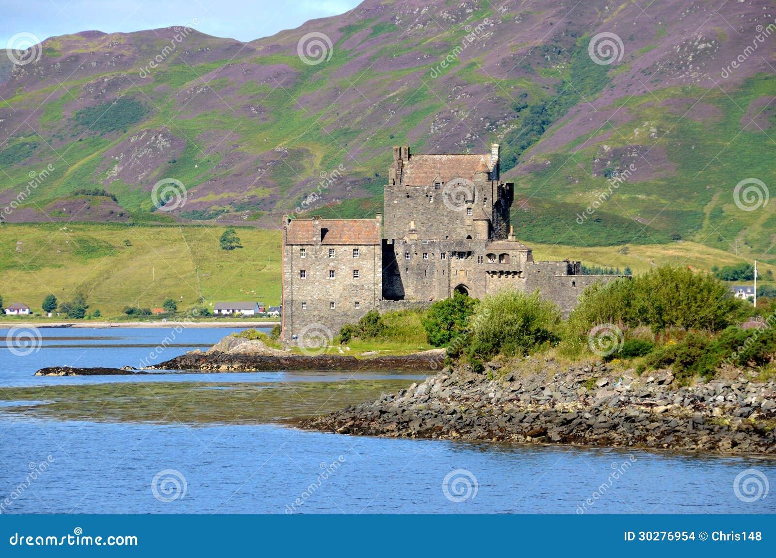 Eilean Donan城堡, Dornie,苏格兰