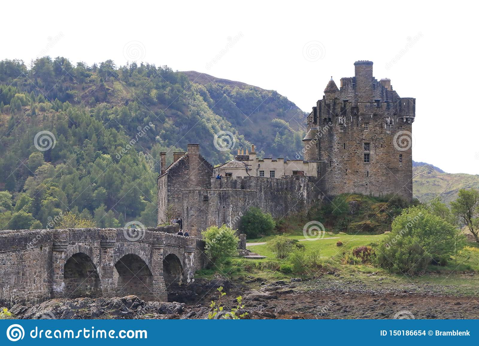 Eilean Donan Castle, Dorney, Escócia