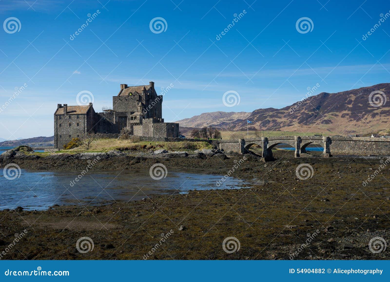 Eilean Donan Castle, Scozia, isola, di, skye