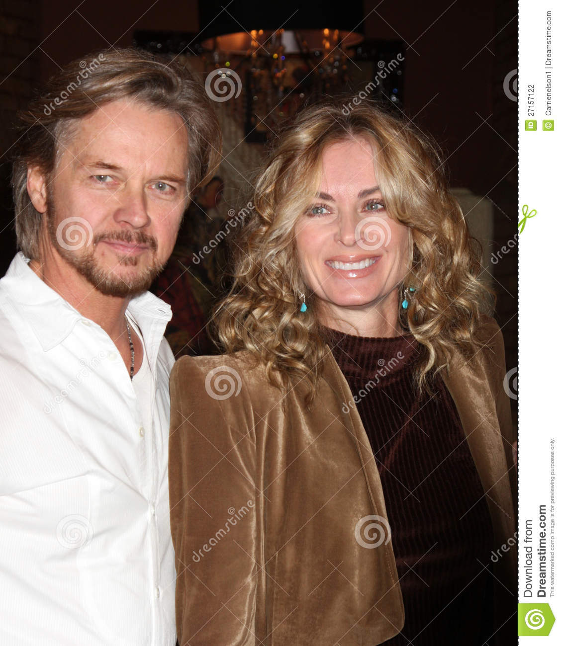 Eileen Davidson Stephen Nichols Editorial Photography Image Of Party Stephen 27157122