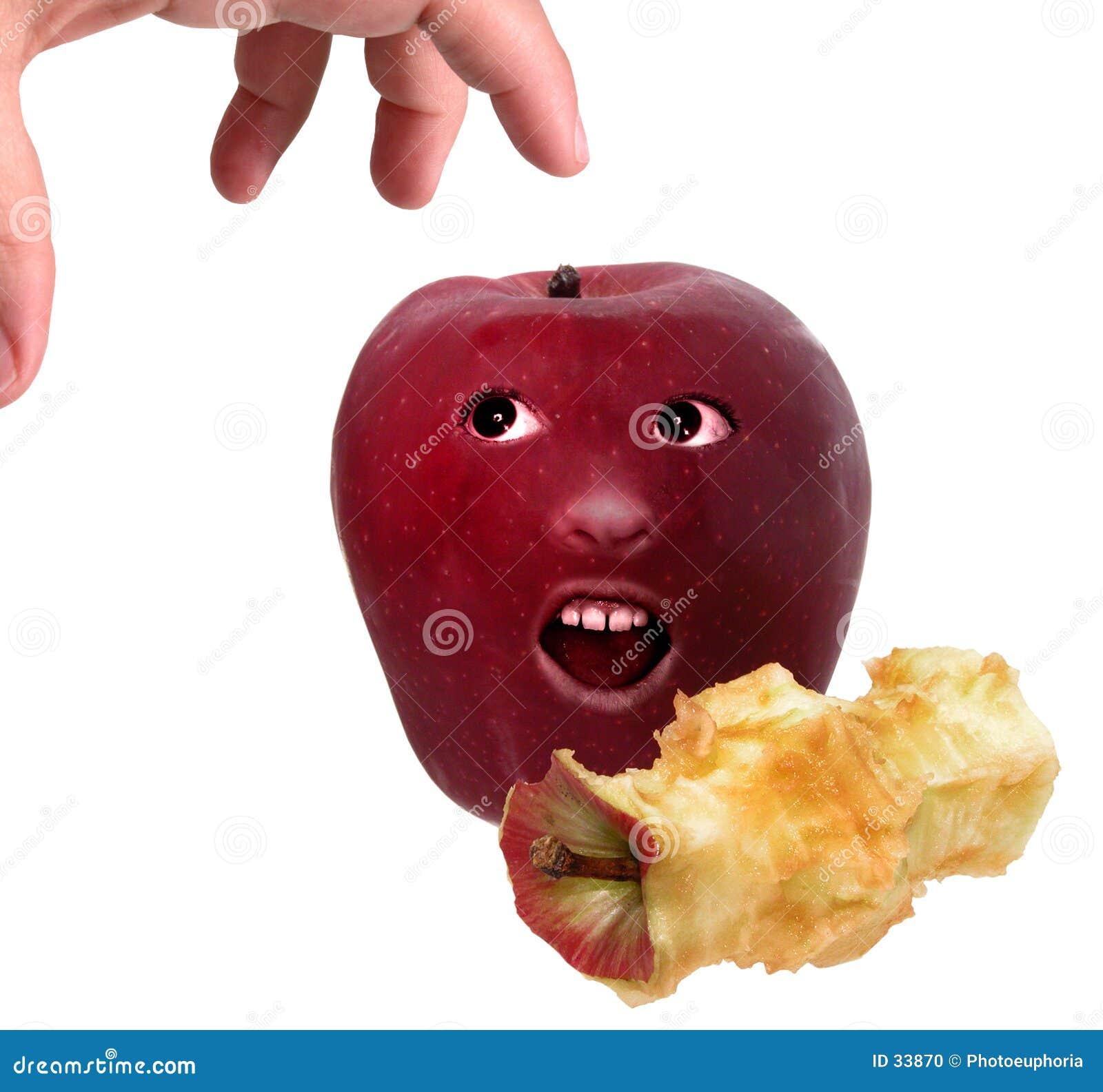 Ein Apple ein Tag