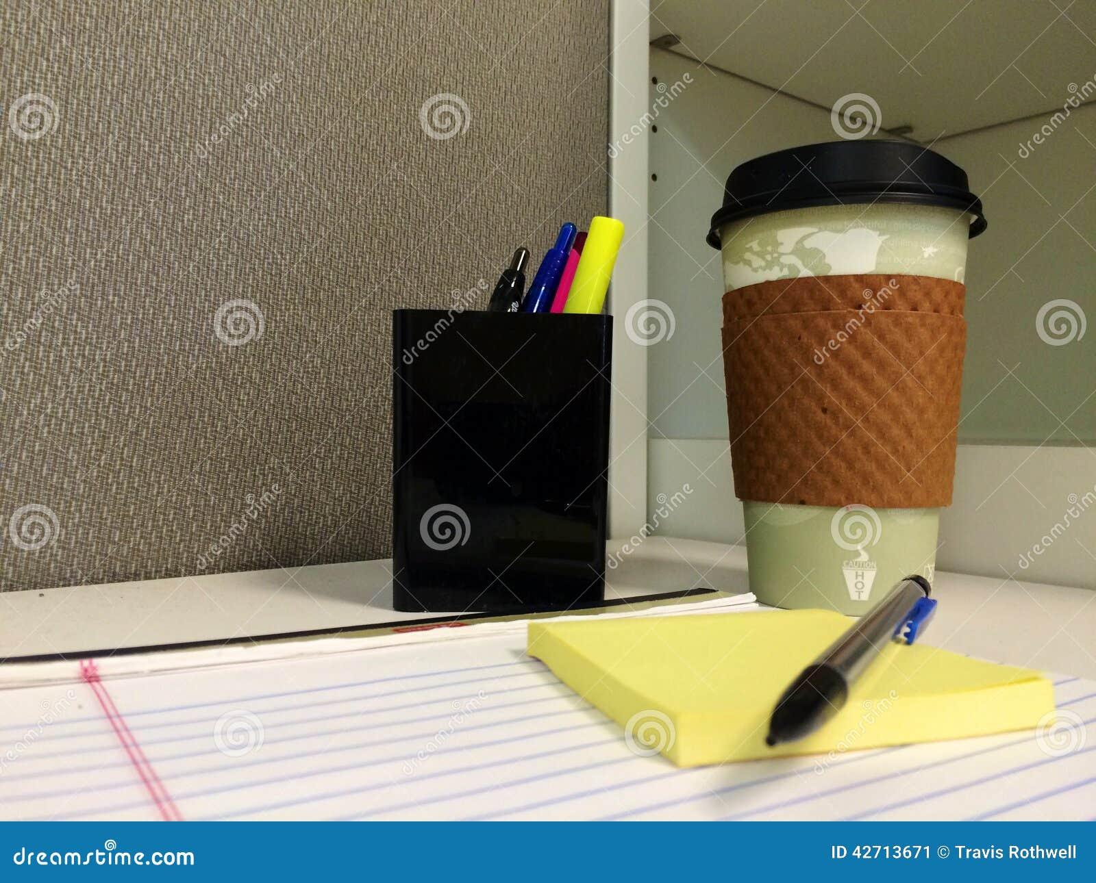Ein Büro-Morgen