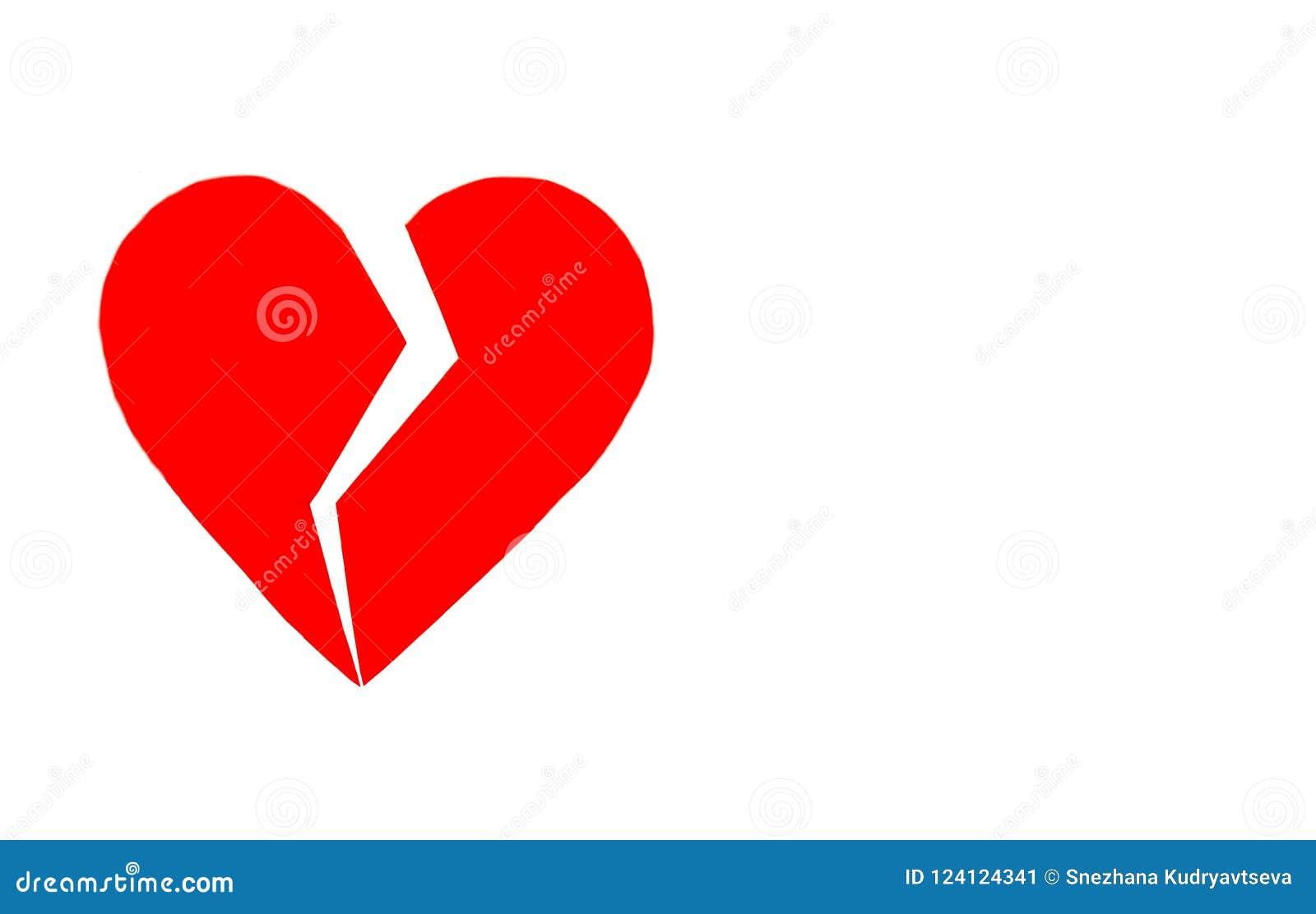 Ein defektes Herz kann nicht zusammen genäht werden oder geklebt werden