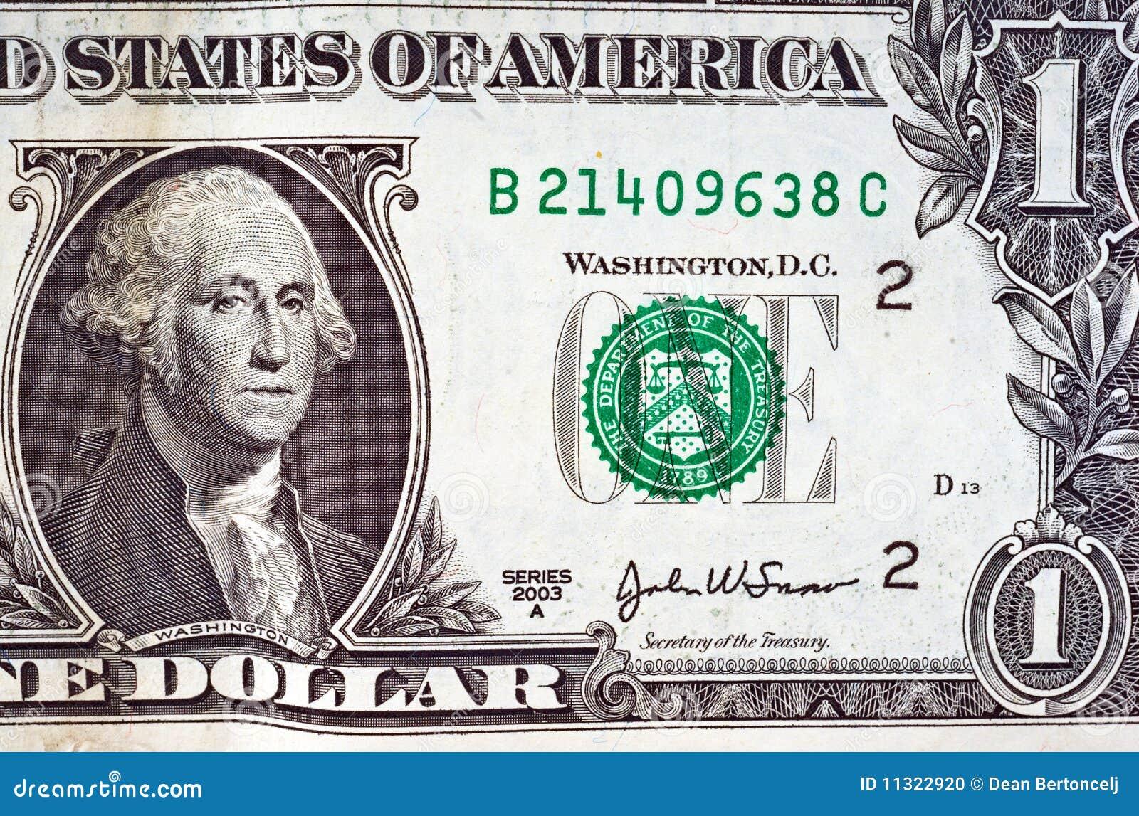 Ein Dollarschein