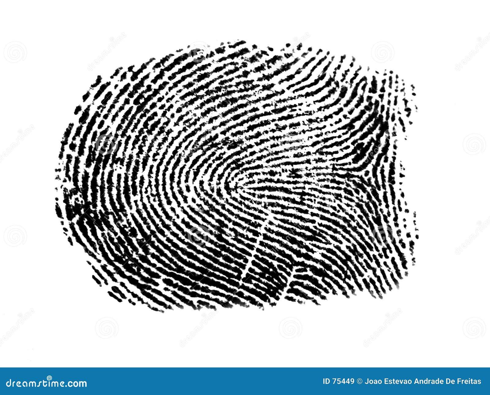 Ein Fingerabdruck