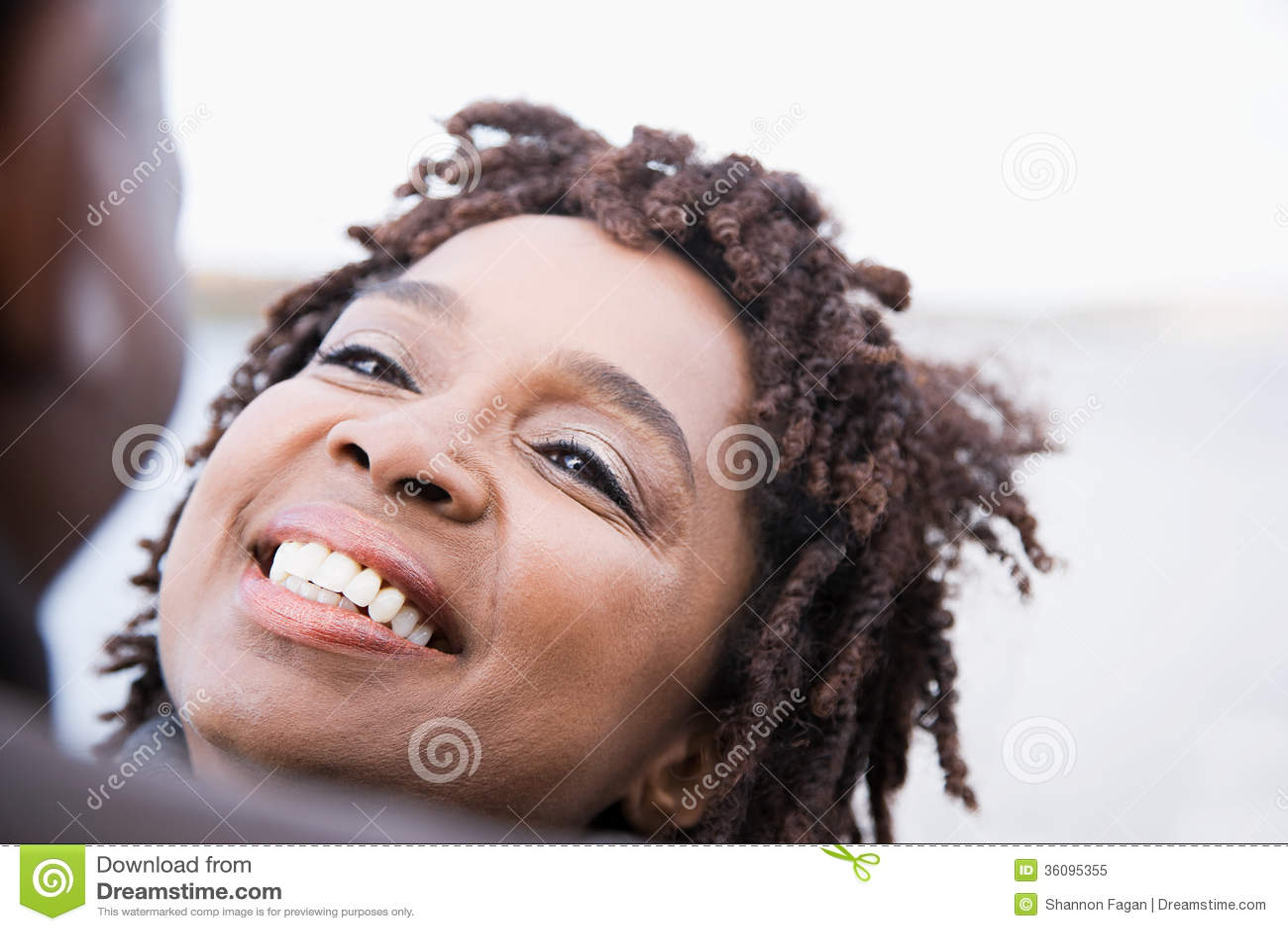 Ein Frauenlächeln