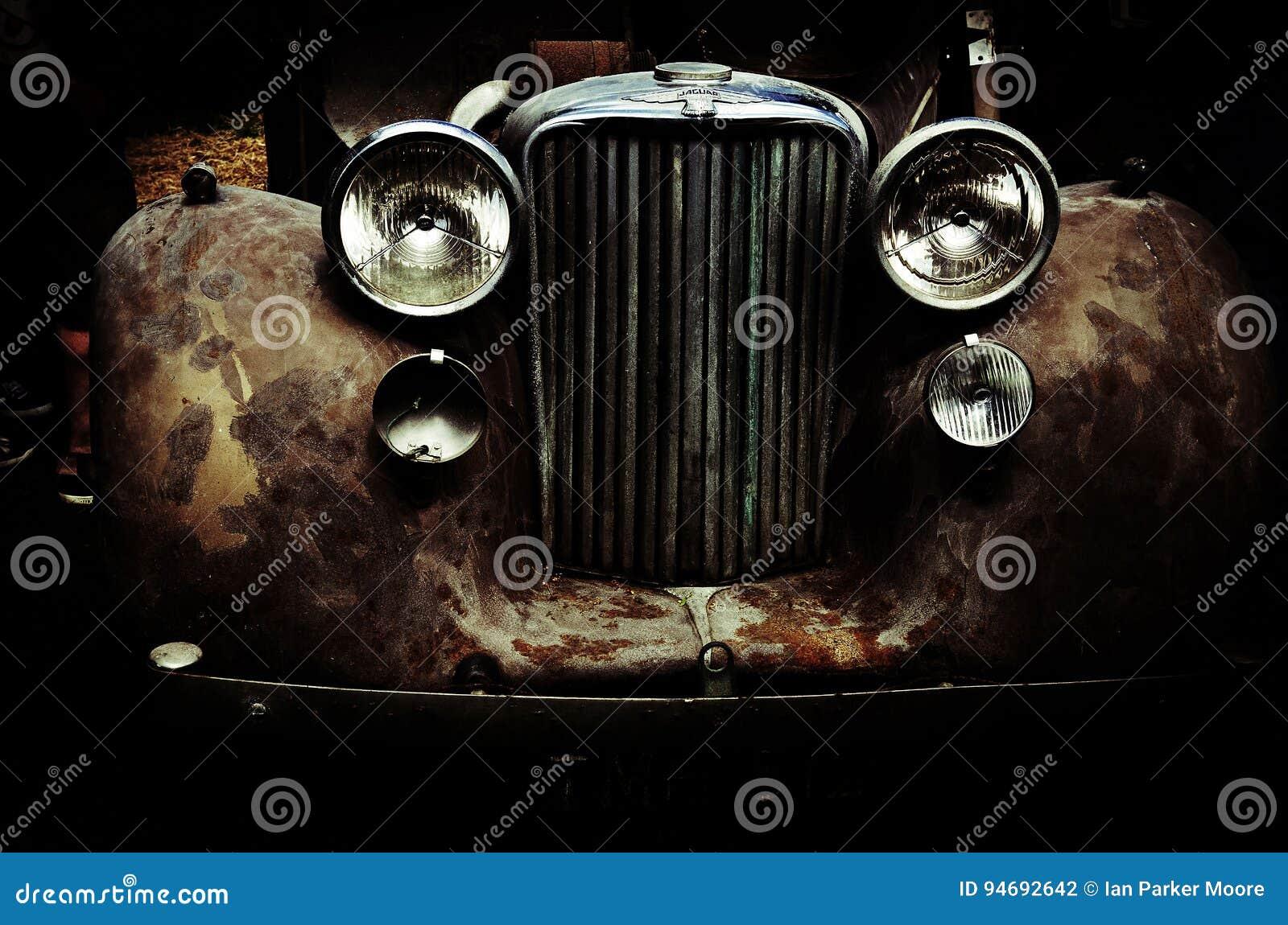 Ein Jaguar-Auto
