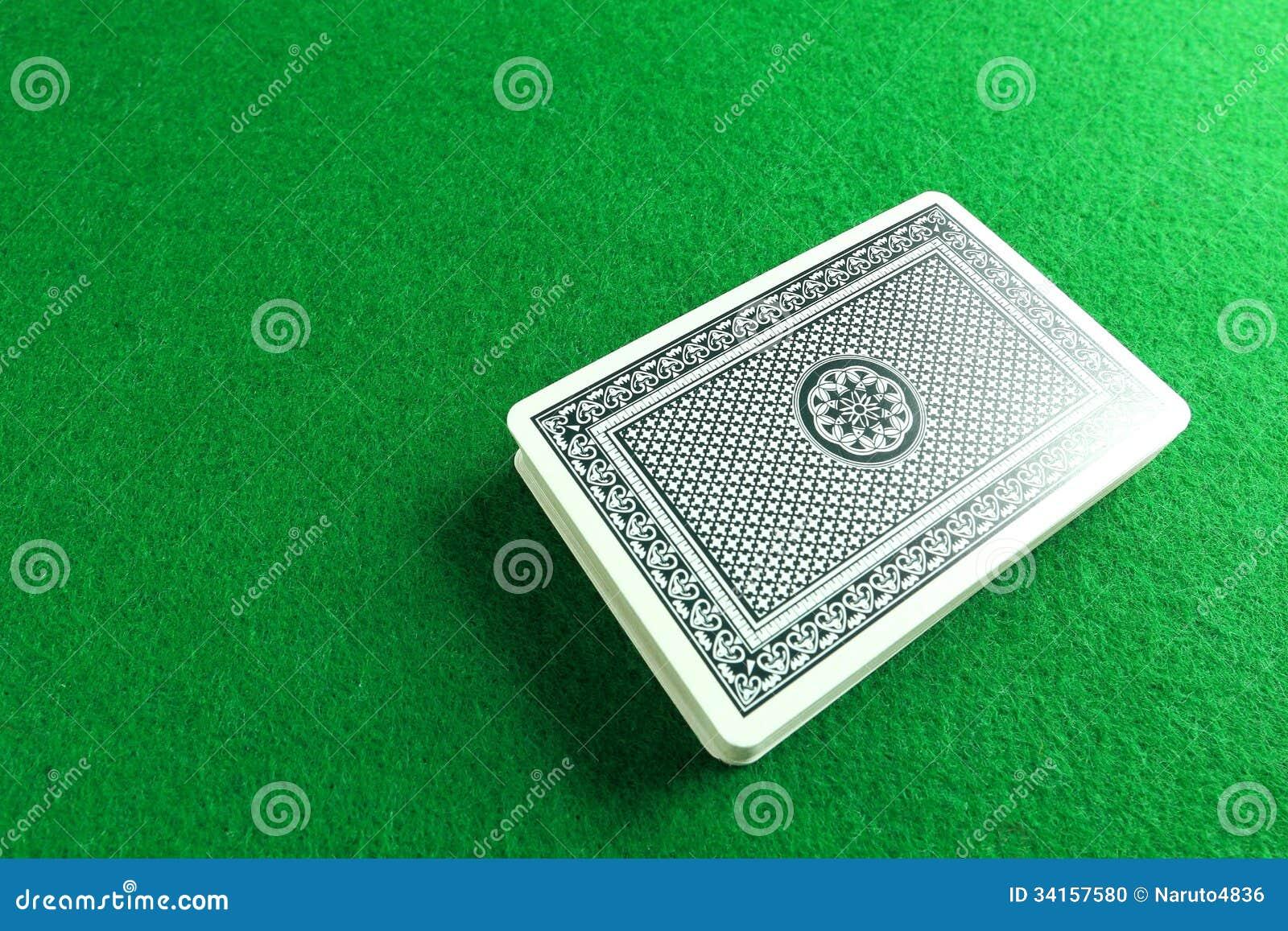 Ein Kartenstapel