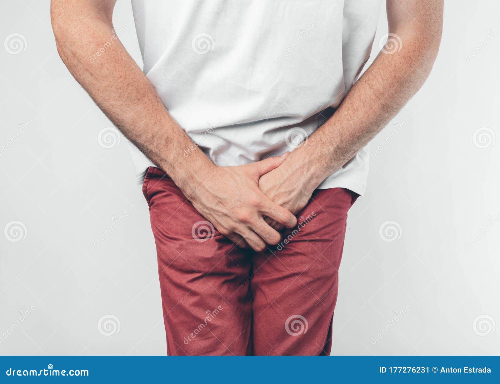Auf dem penis