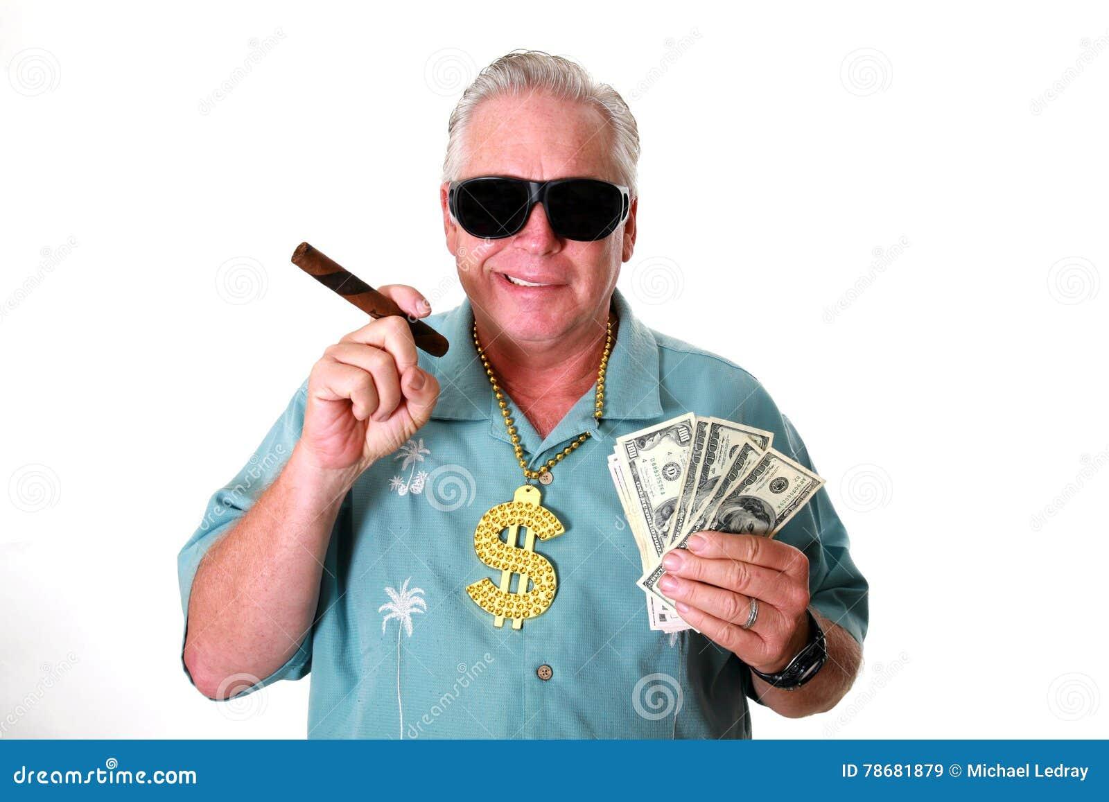 Ein Mann mit Geld Ein Mann gewinnt Geld Ein Mann hat Geld Ein Mann schnüffelt Geld Ein Mann liebt Geld Ein Mann und sein Geld Ein