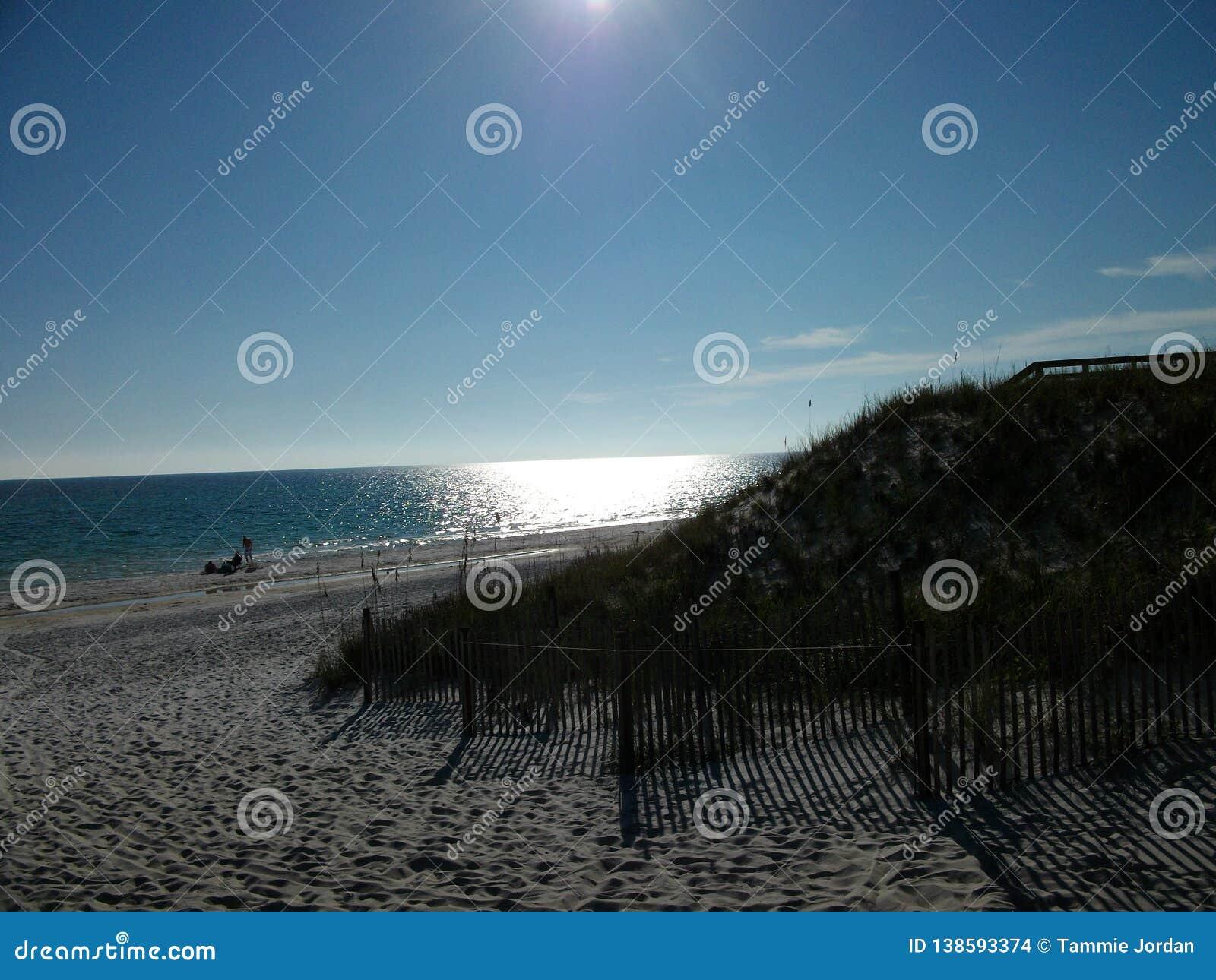 Ein perfekter Nachmittag auf dem Strand