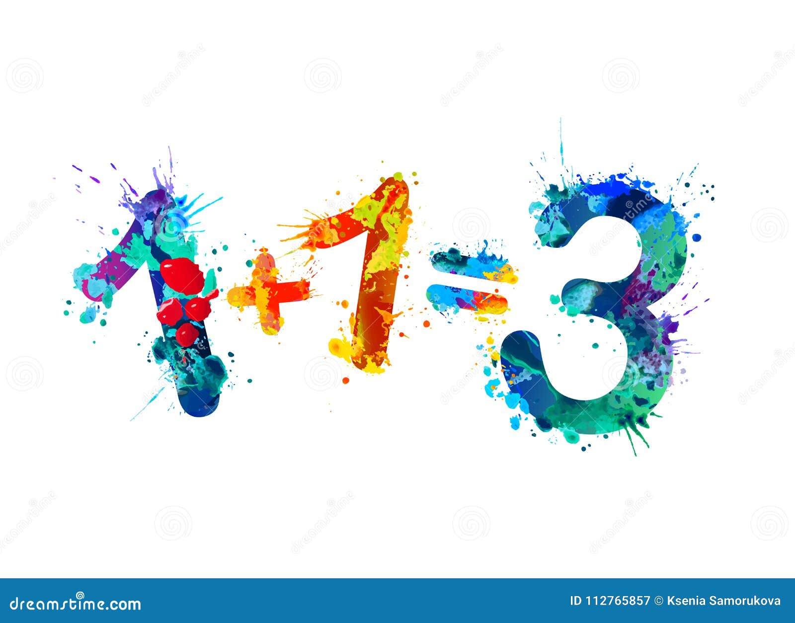 Ein plus ein entspricht drei Drei für den Preis von zwei