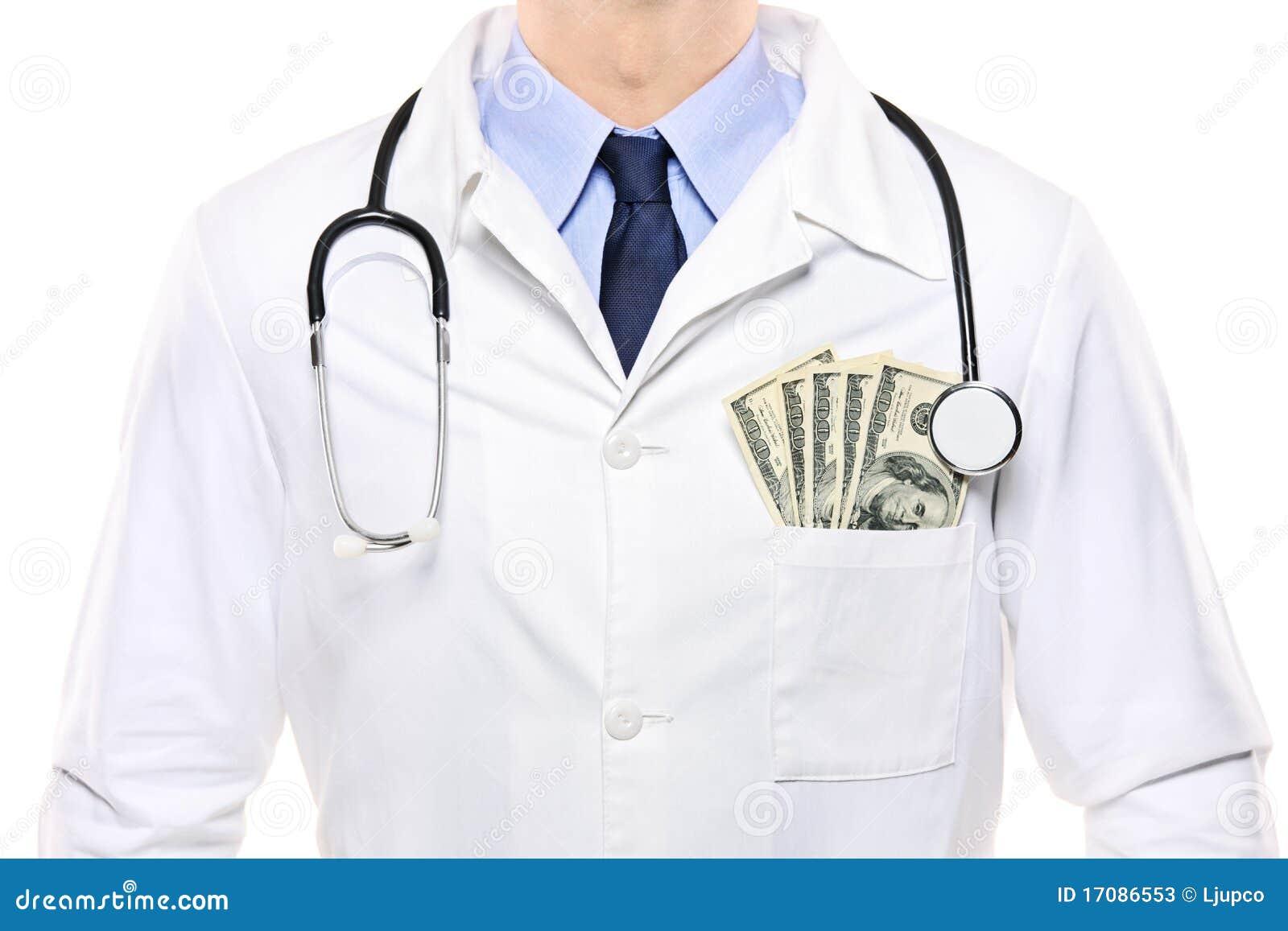 Ein Portrait eines Doktors