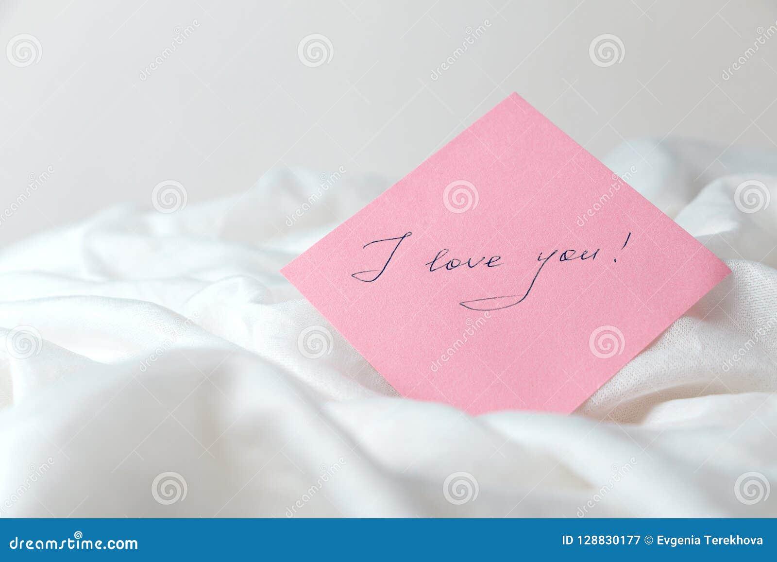 Ich liebe dich ich weiß