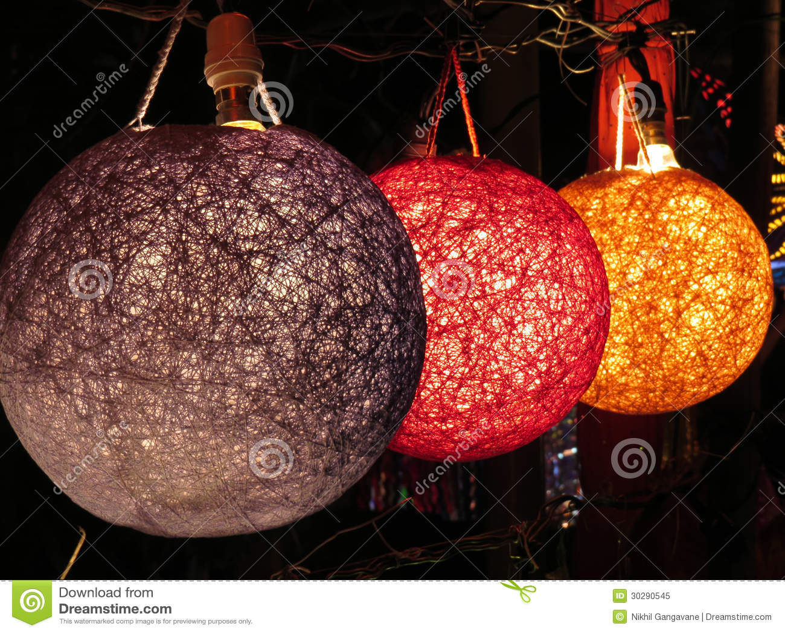 Designer Lampen Stockbild Bild Von Rund Elektrizitat 30290545
