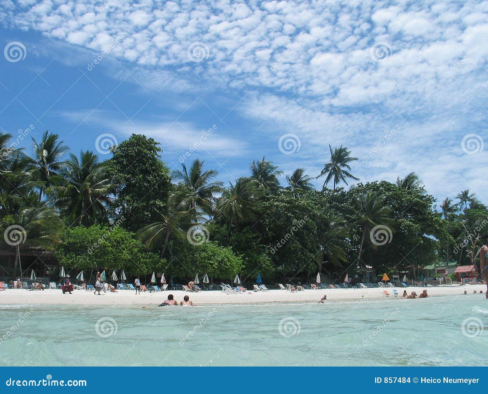 Ein Strand - ein Feiertagsparadies