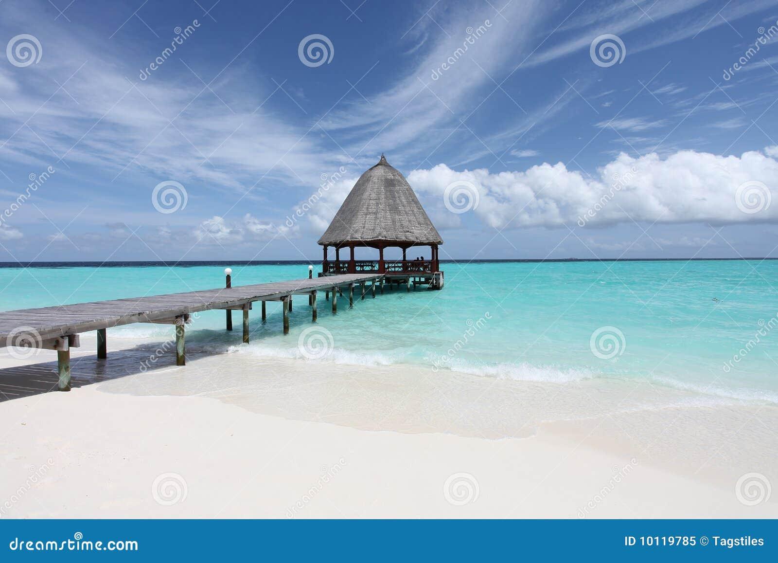 Download Ein Tag im Paradies stockbild. Bild von reisen, reise - 10119785