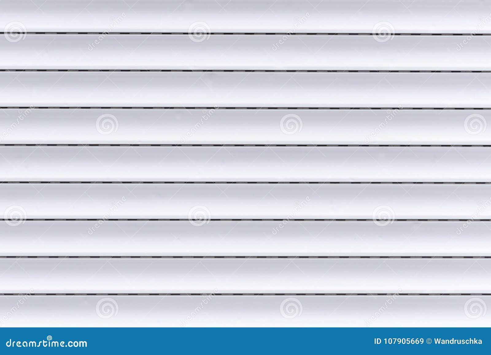 Ein weißer Vorhang