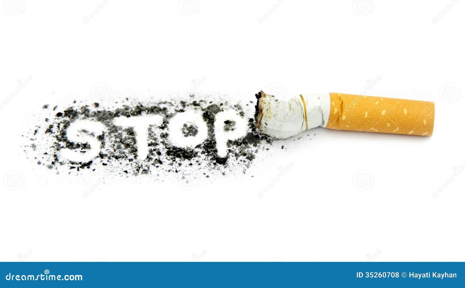 Einde het roken