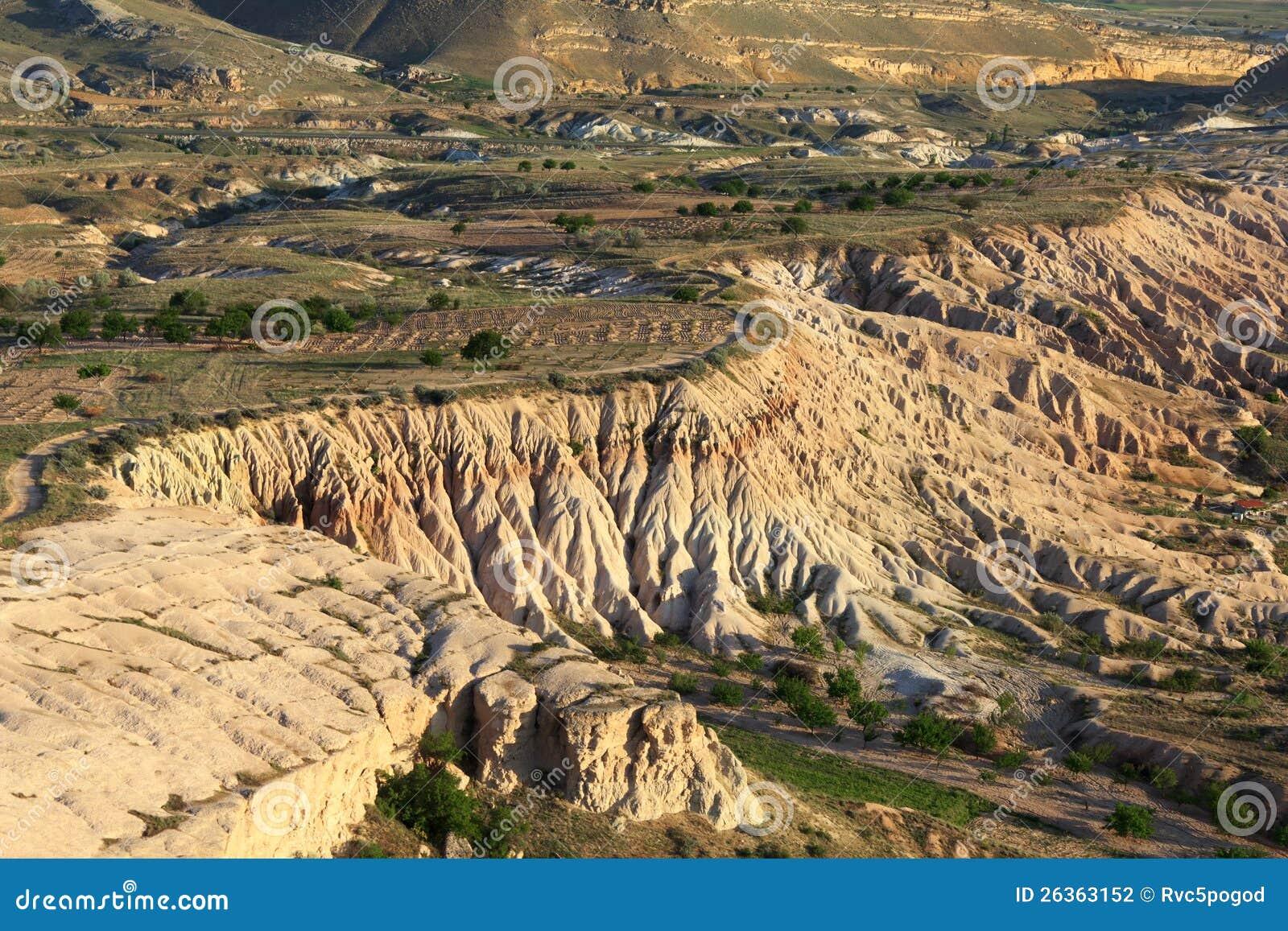 Eindeutige geologische Anordnungen, Cappadocia