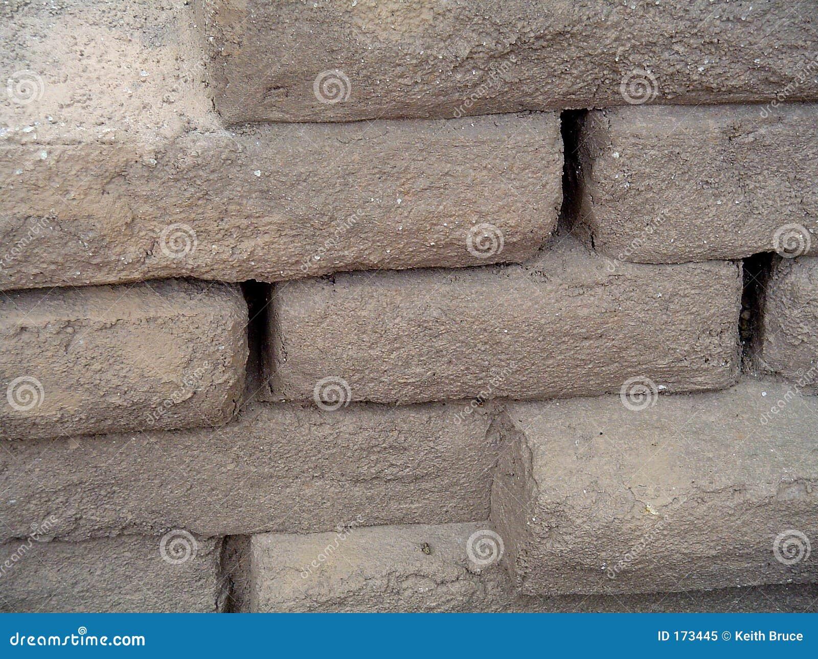 Eindeutige Steinwand