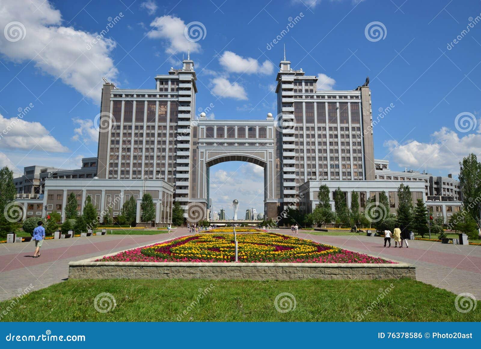 Eine Ansicht in Astana