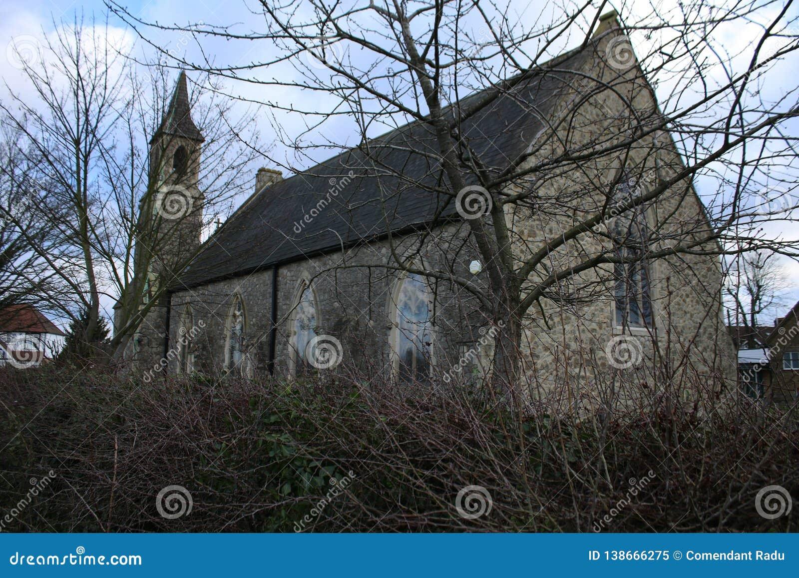 Eine englische Kirche in London