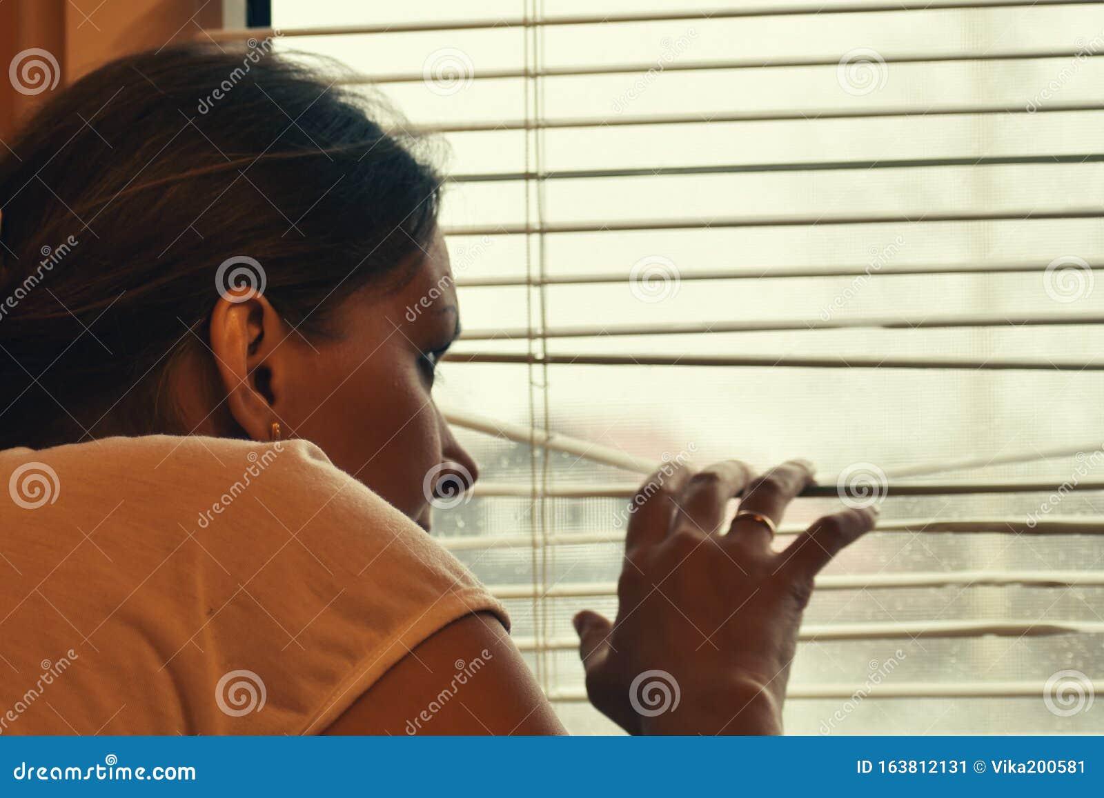 Fenster durch Spionage Nachbar Spionage durch