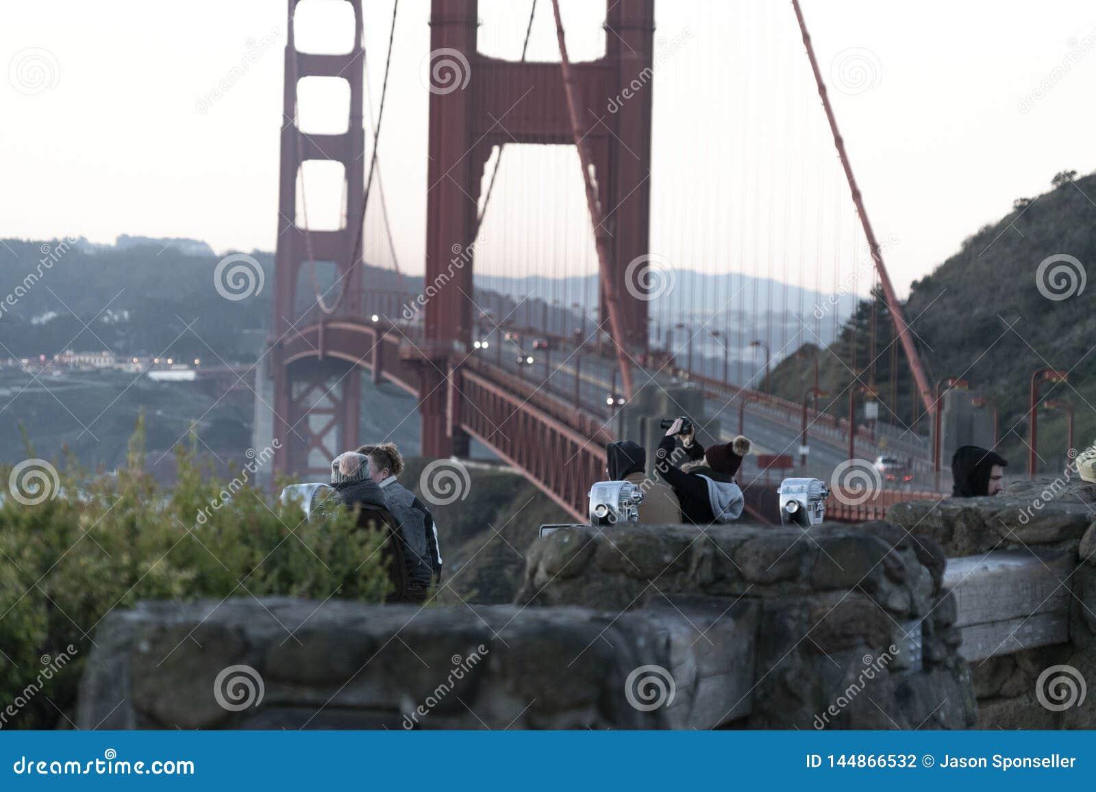 Eine goldene Anziehungskraft in San Francisco