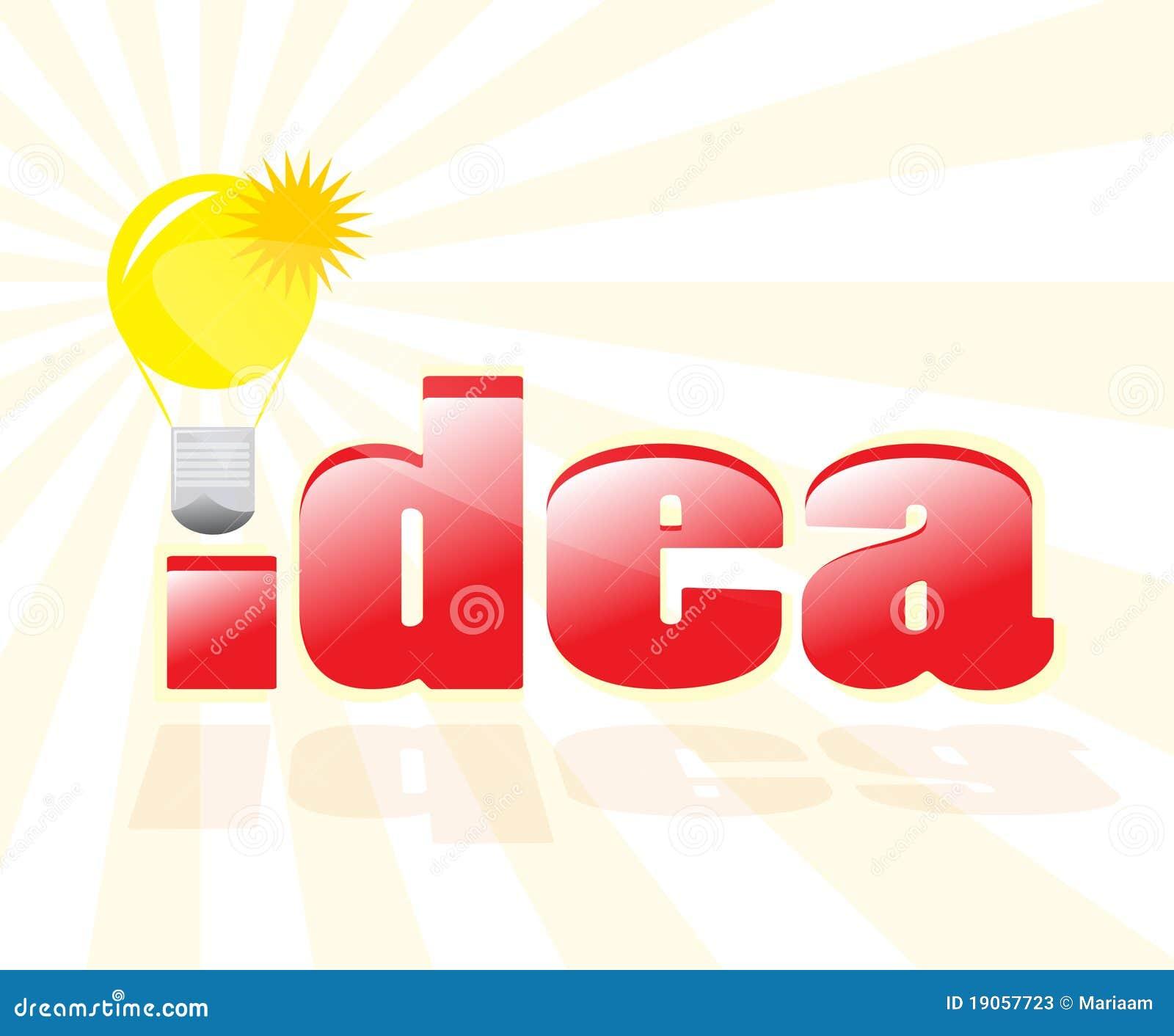 Eine gute Idee haben!