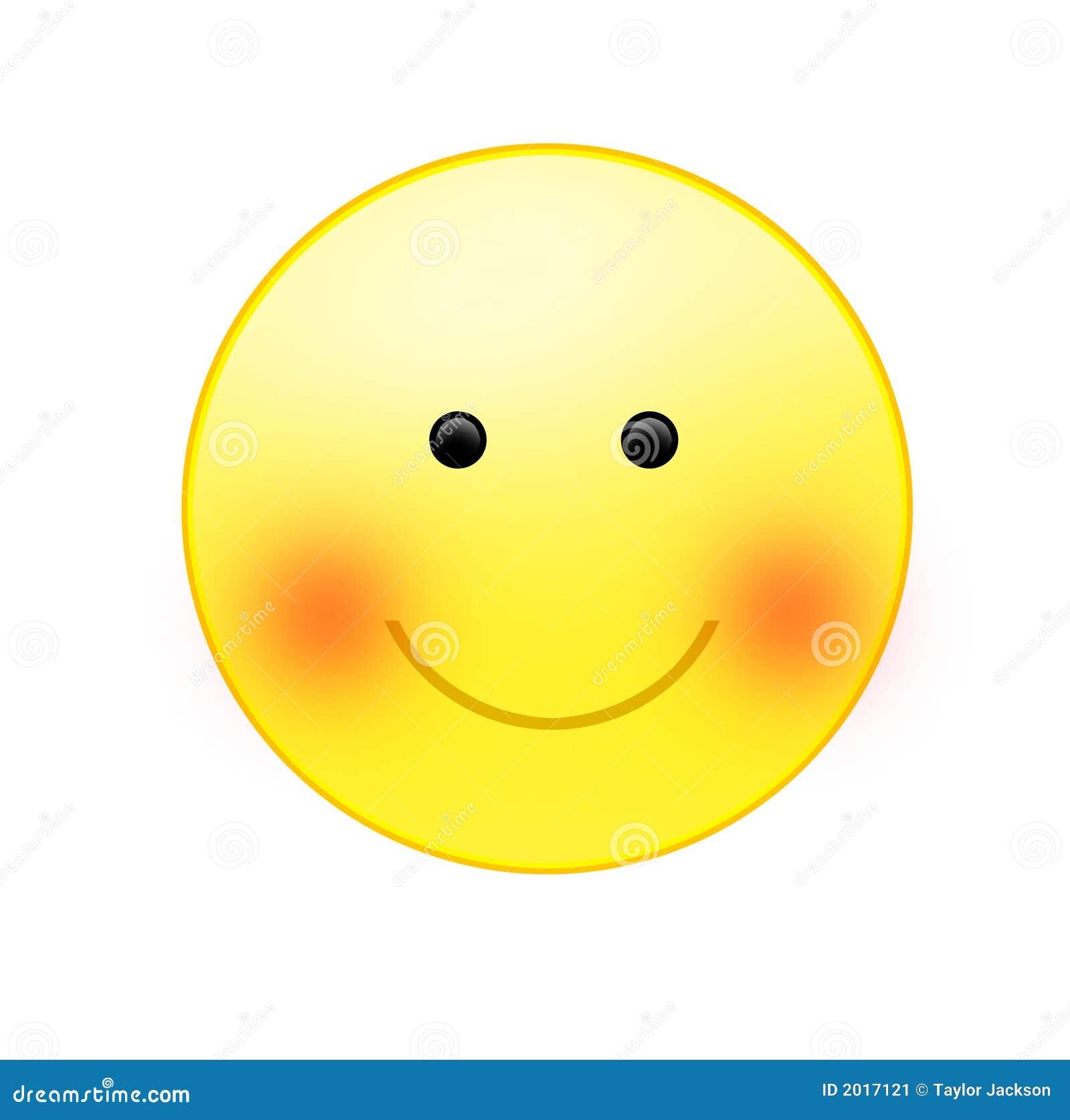 Eine lächelnde Sonne stock abbildung. Illustration von