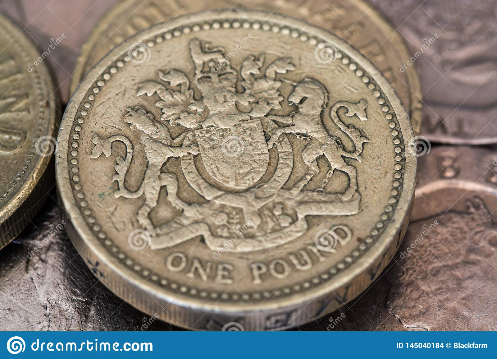 Eine Pfundm?nze