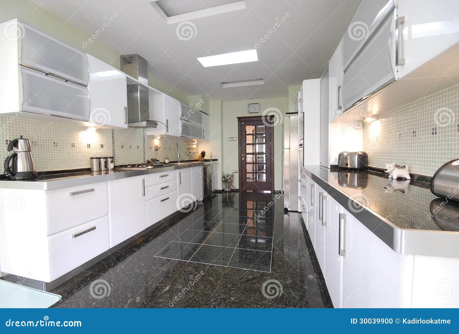 s ubern sie moderne k che stockfoto bild 30039900. Black Bedroom Furniture Sets. Home Design Ideas