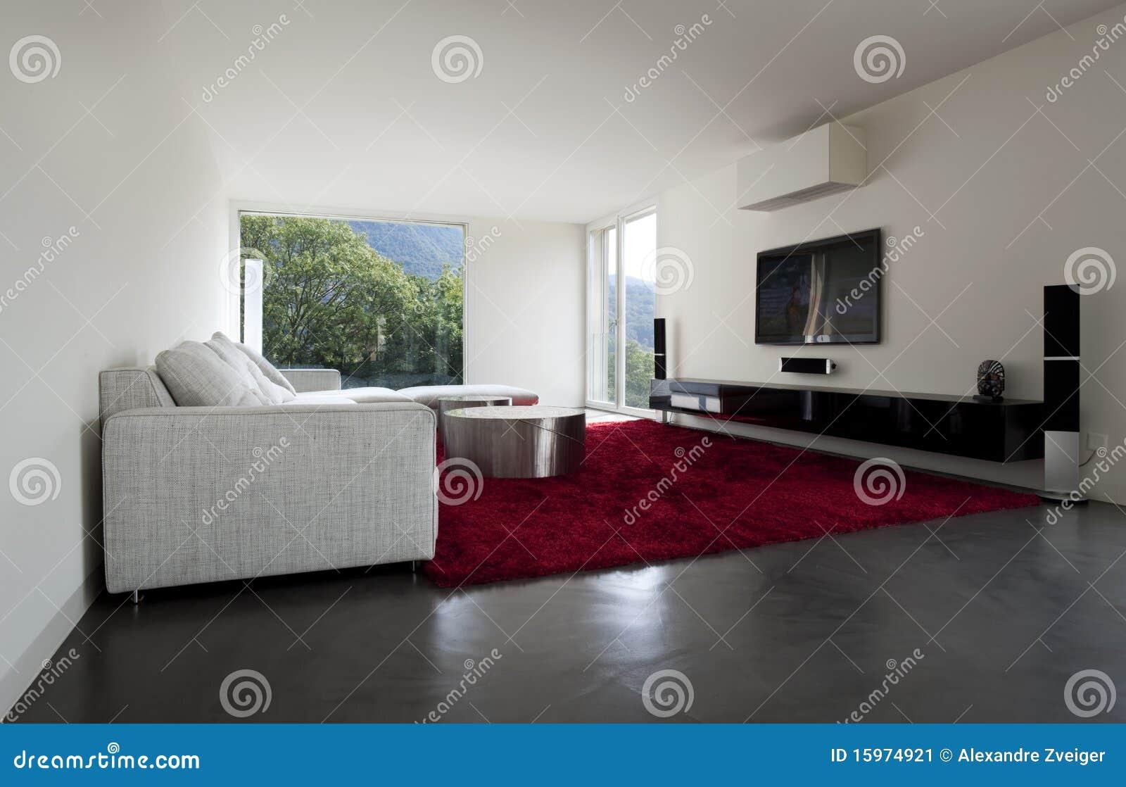 Download Eine Schöne Neue Wohnung Stockbild. Bild Von Teppich   15974921