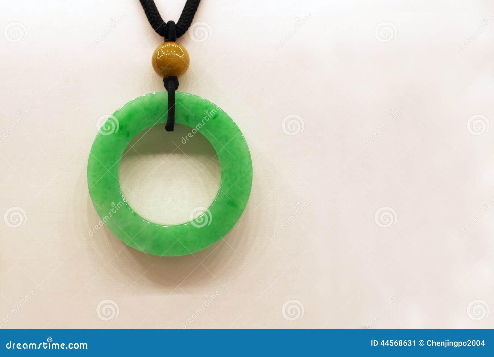 Eine Smaragdgrünjade