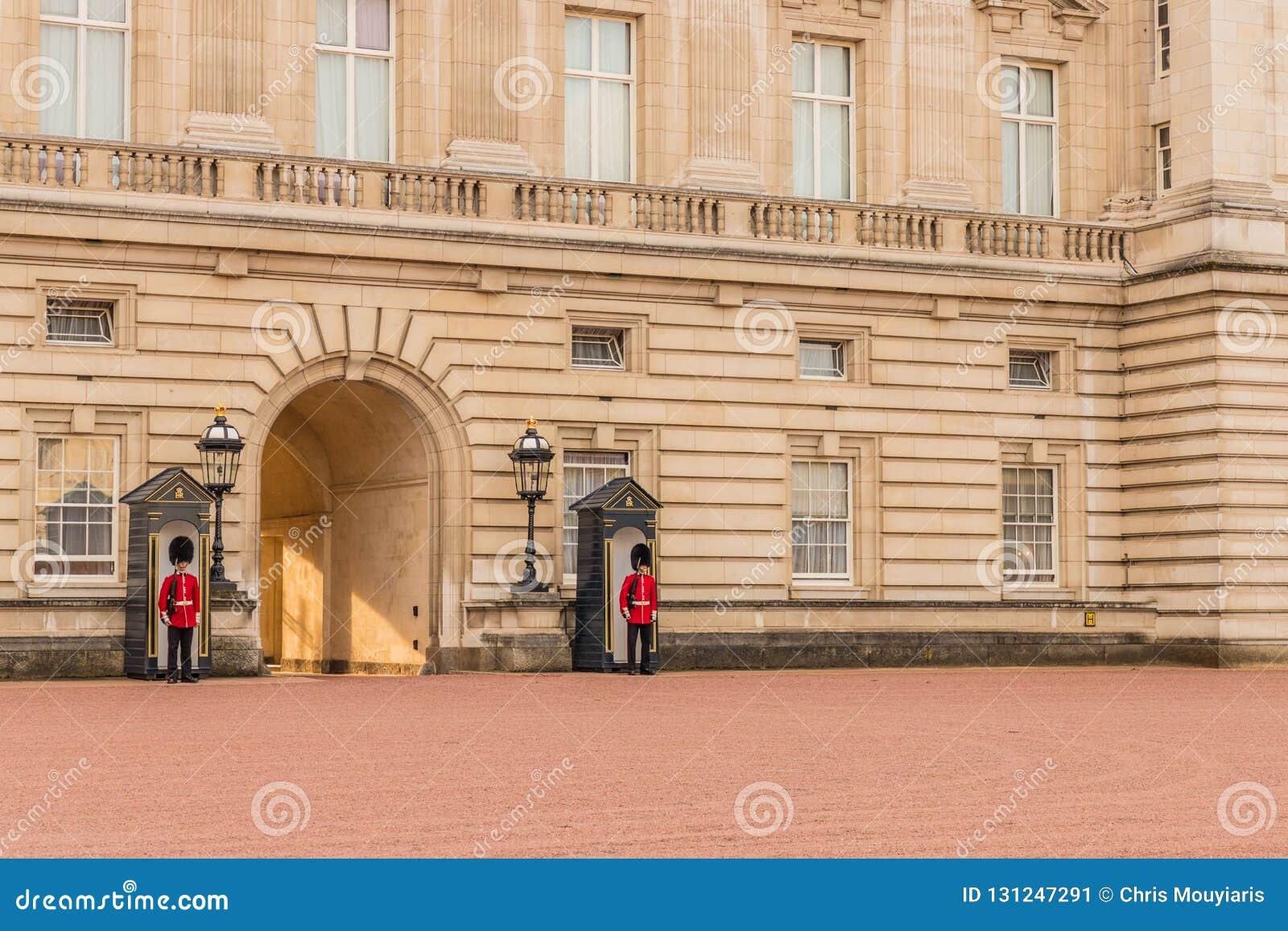 Eine typische Ansicht am Buckingham Palace