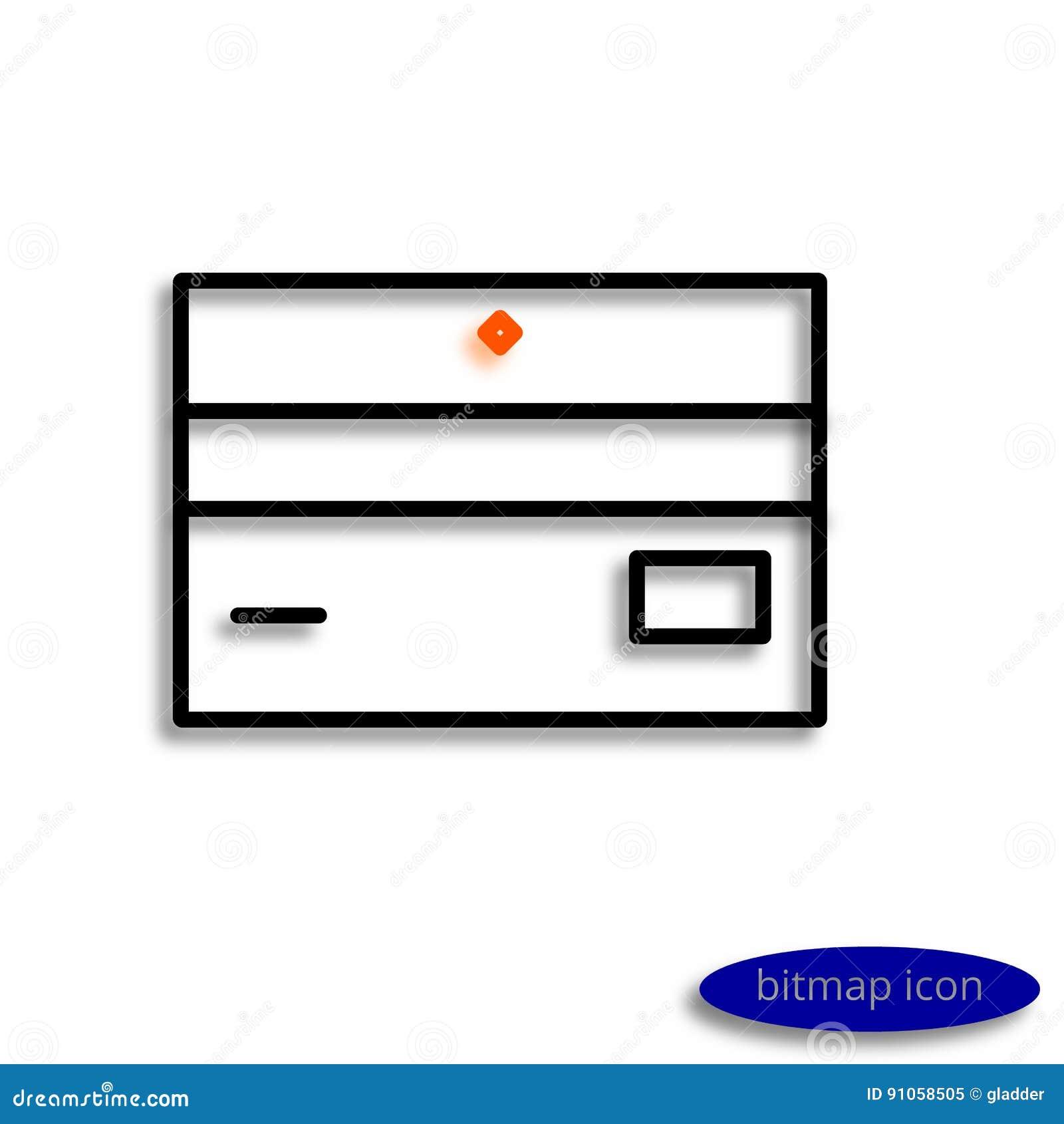 Eine Visitenkarte Oder Eine Bankkarte Gezeichnet Durch Die