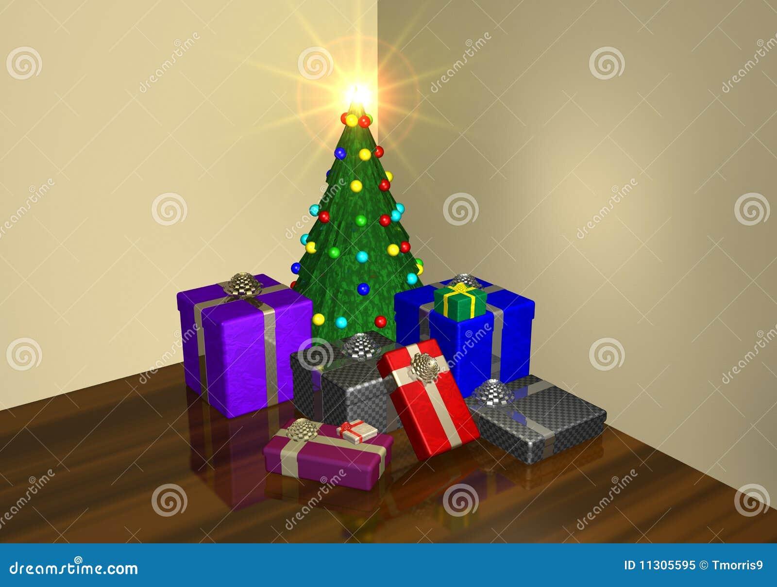 Eine Weihnachtseinstellung