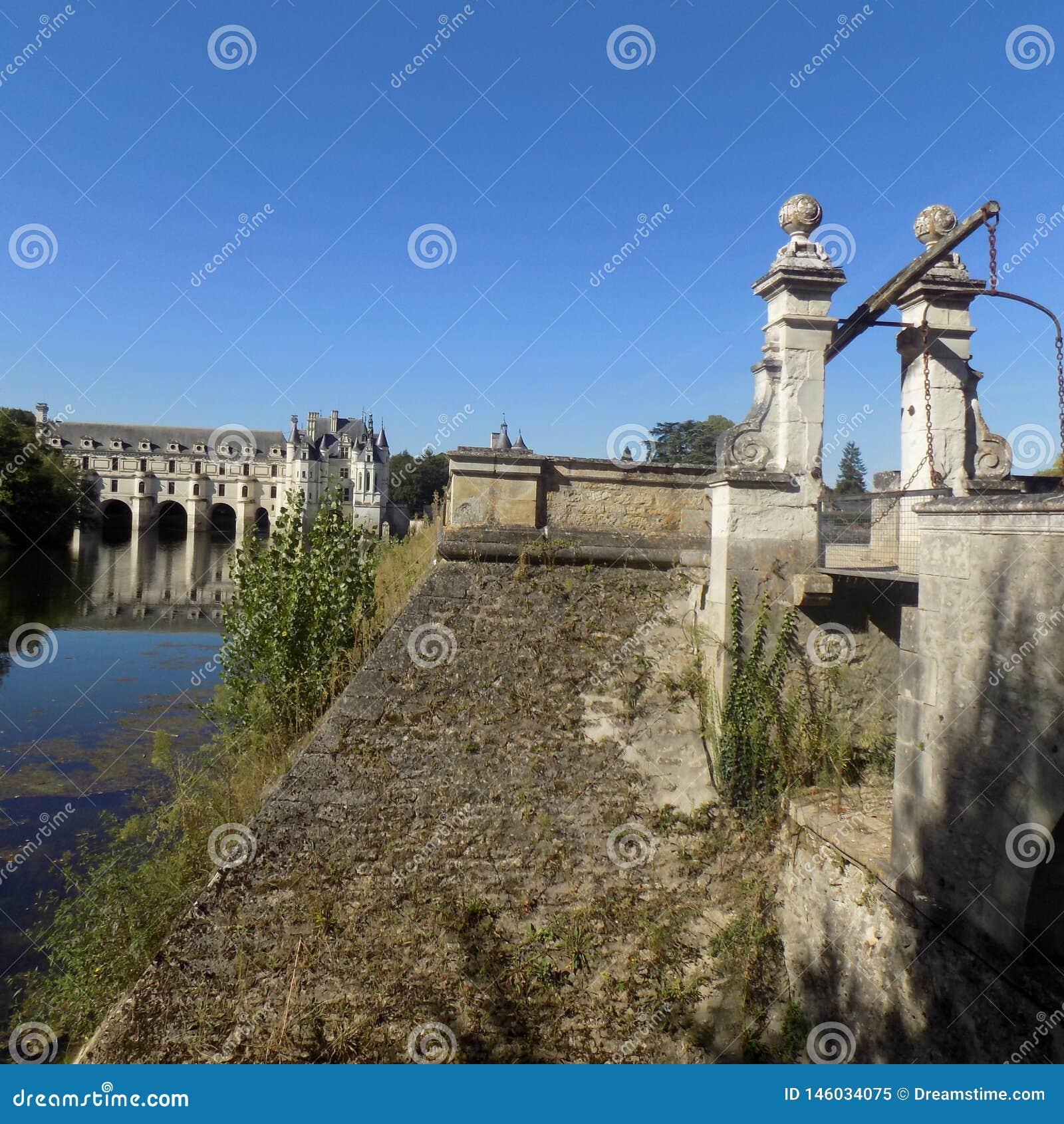 Eine wunderbare Landschaft von Frankreich