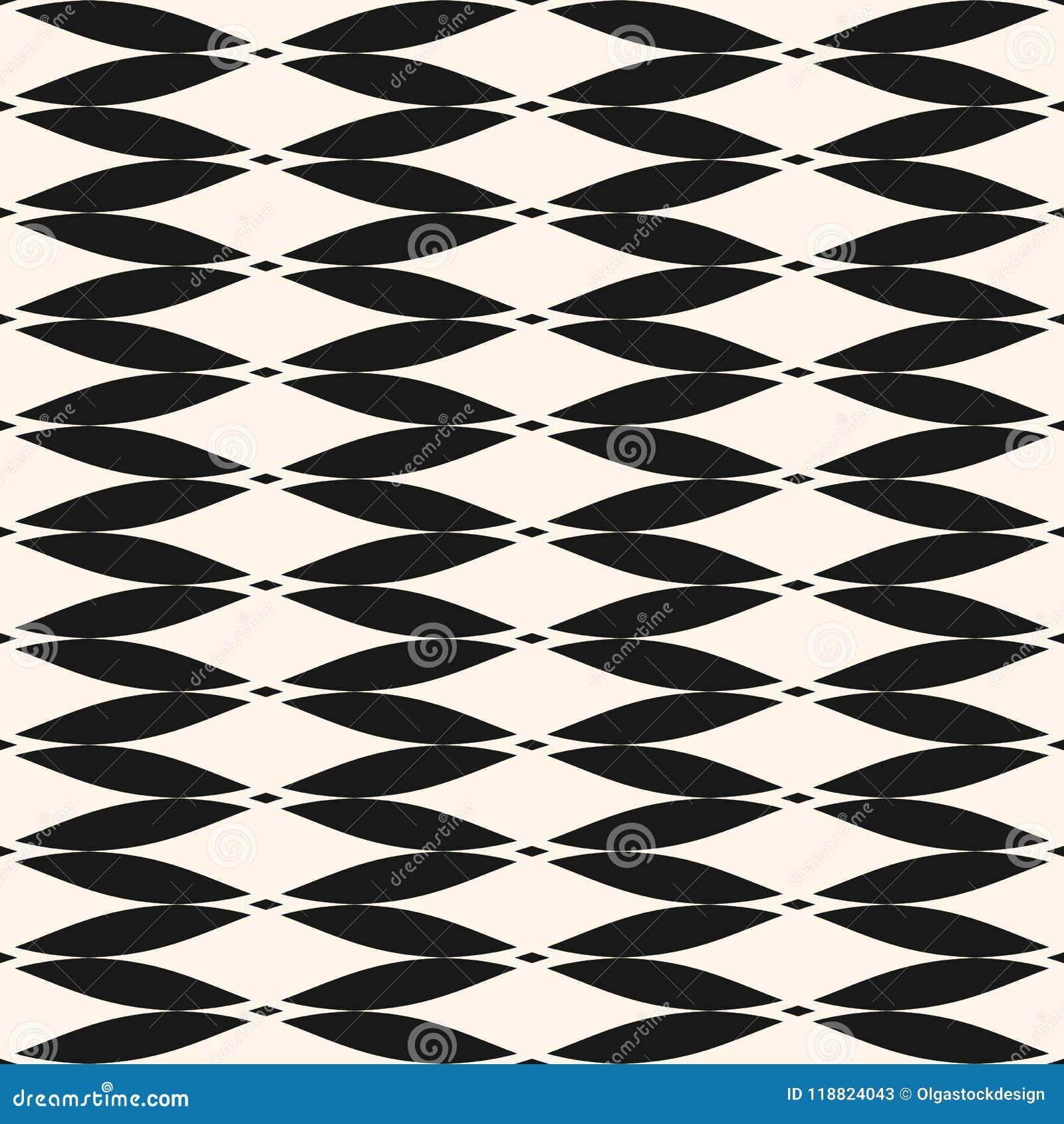Einfaches nahtloses Muster des geometrischen Designs für Dekor, Gewebe, Gewebe, Möbel, Drucke, Tapete