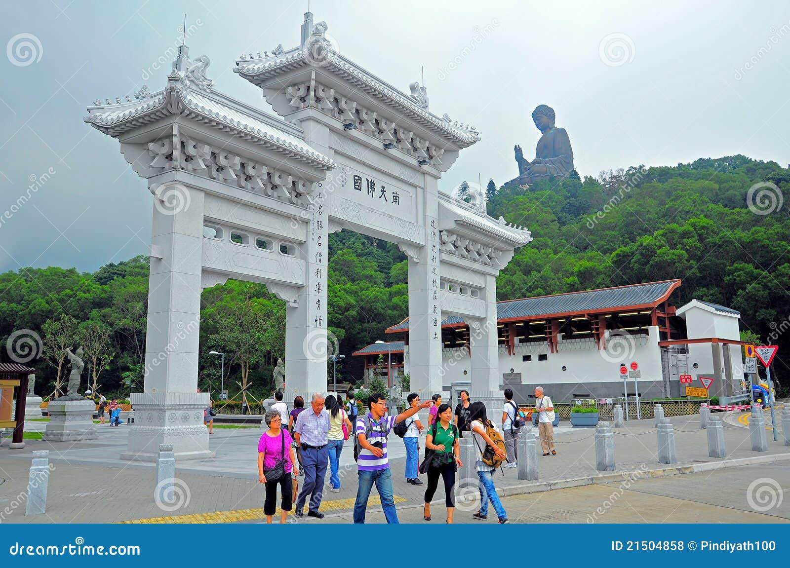 Eingang Kloster zum PO-Lin