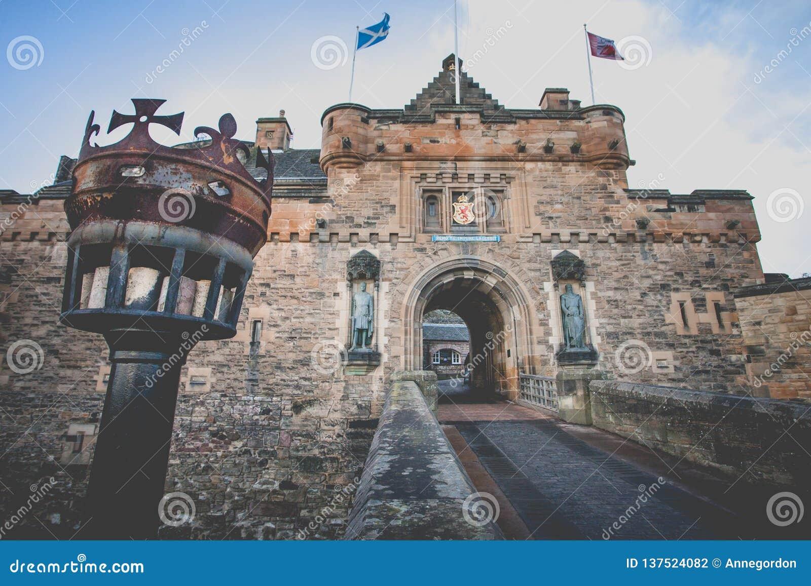 Eingang zu Edinburgh-Schloss