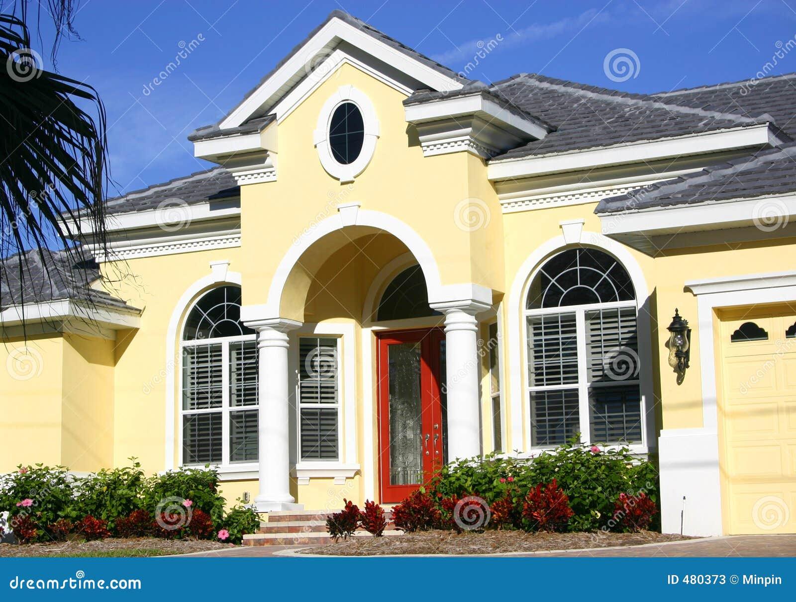 Eingang zum schönen Haus
