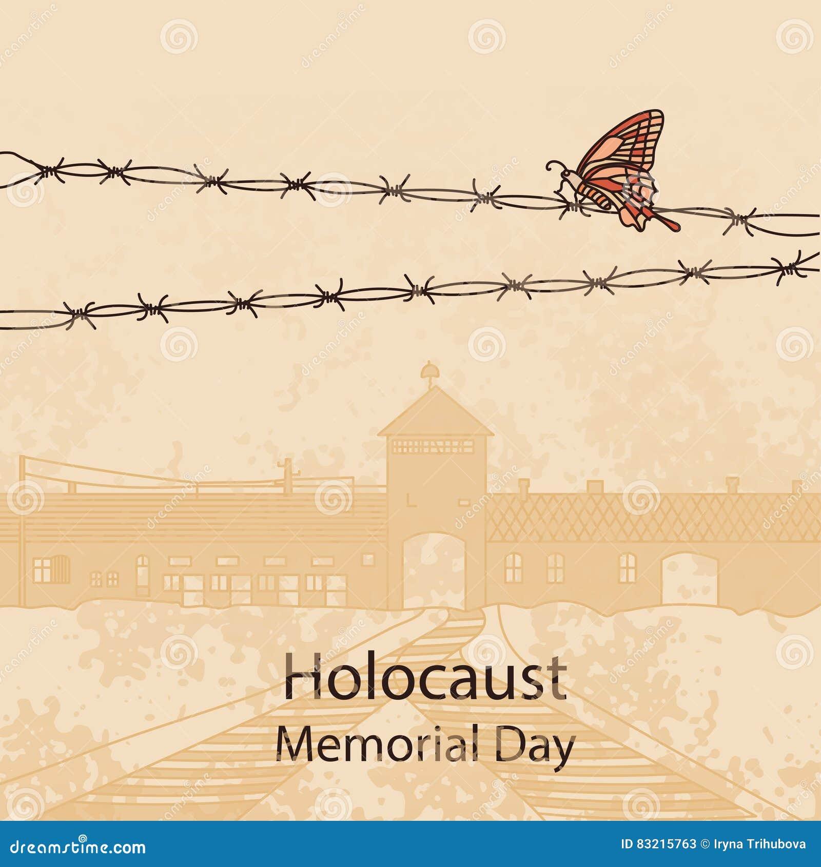 Auschwitz Karte.Eingangstor Nach Auschwitz Birkenau Auch Im Corel Abgehobenen Betrag