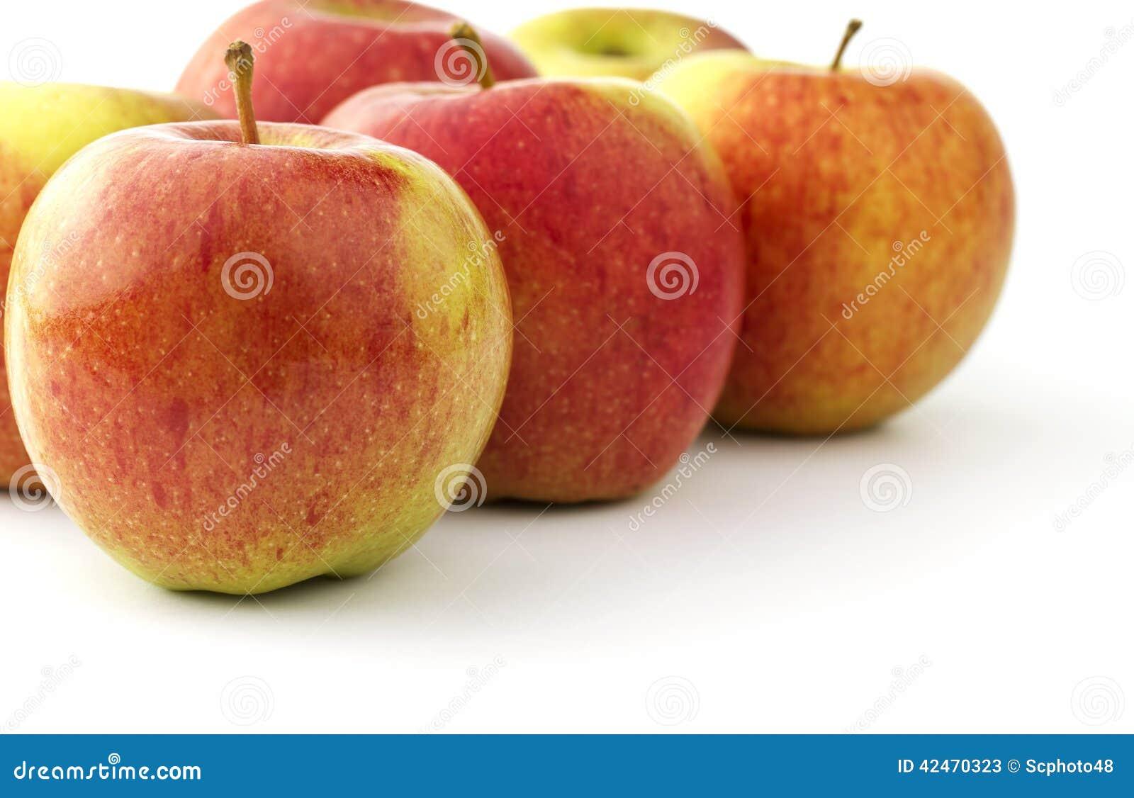 Einige reife braeburn Äpfel