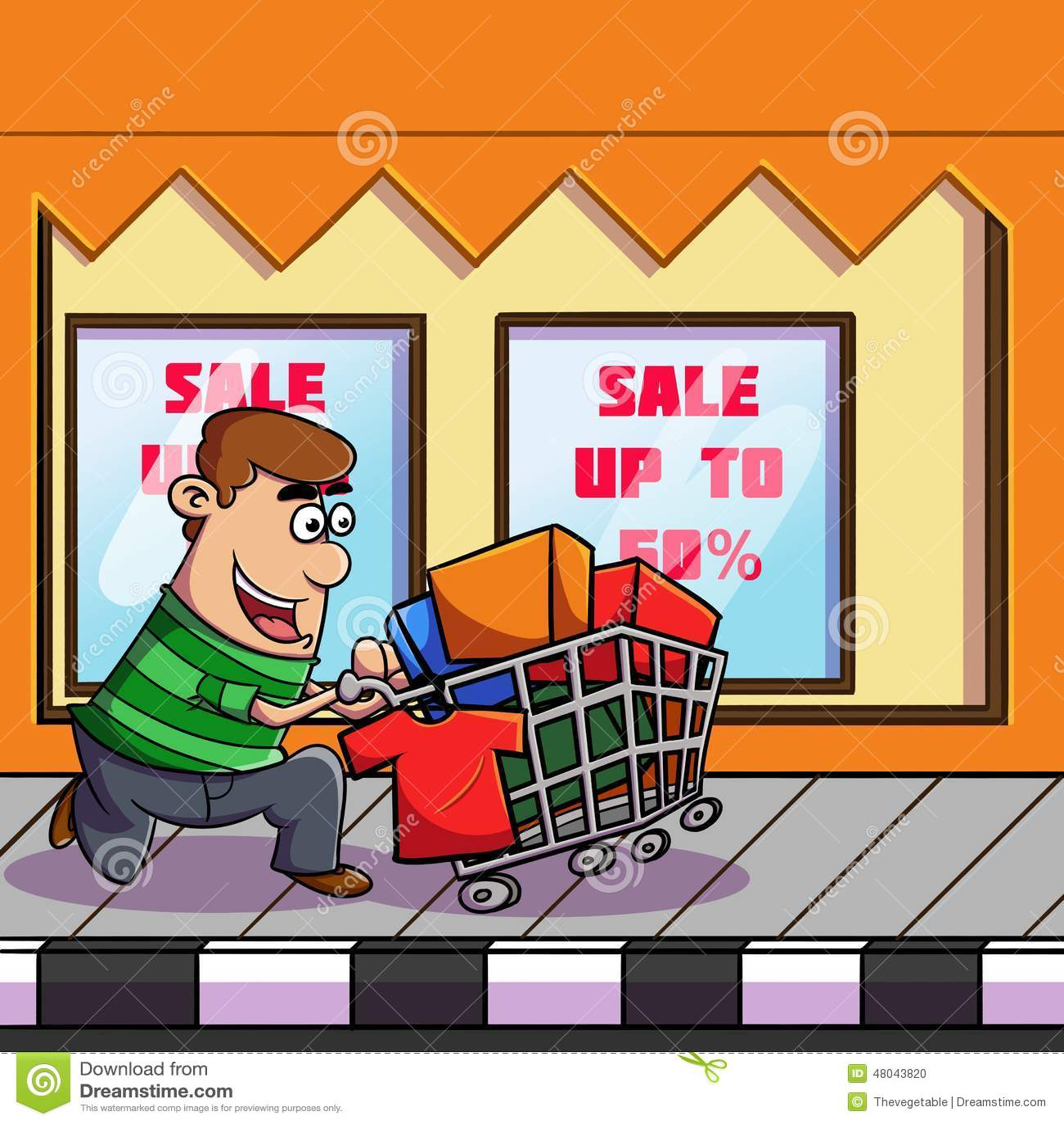 Einkauf zum Markt