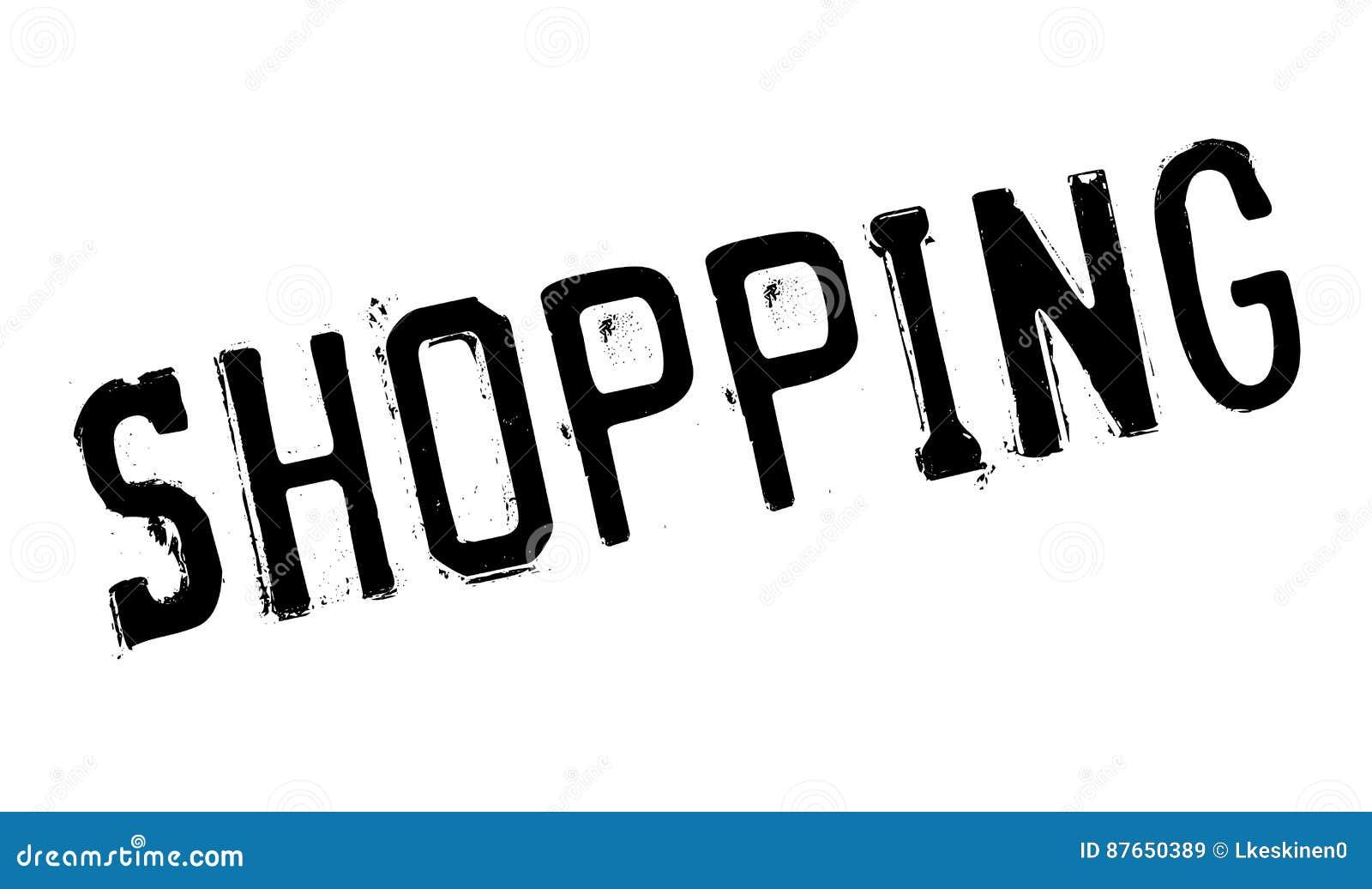 Einkaufsstempel