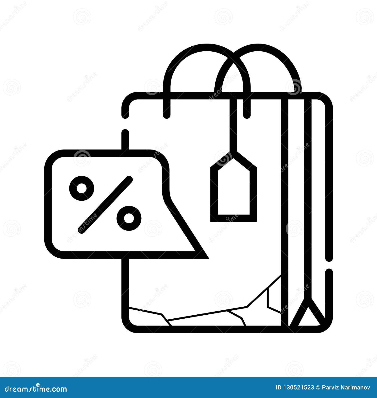 Einkaufstasche - Vektorikone